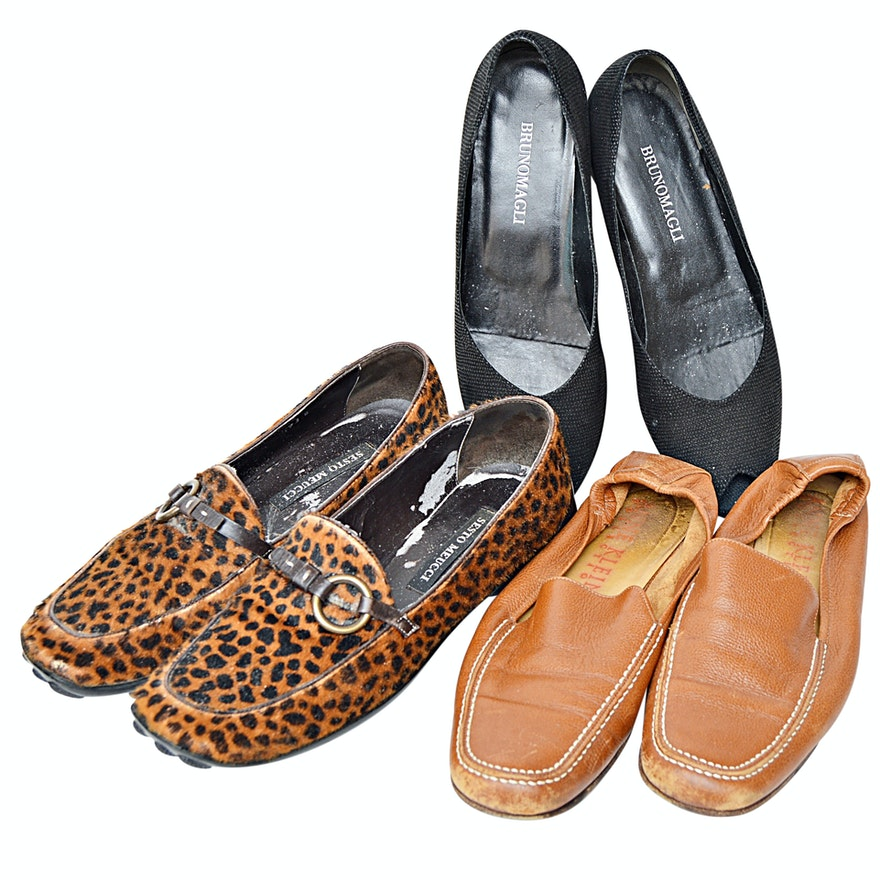 c68ec6f45f8 Women s Leather and Fabric Shoes Including Bruno Magli   EBTH