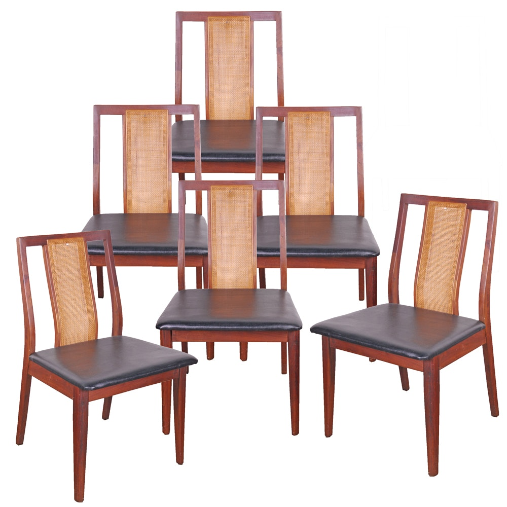 Vintage Danish Modern Style Dining Chairs