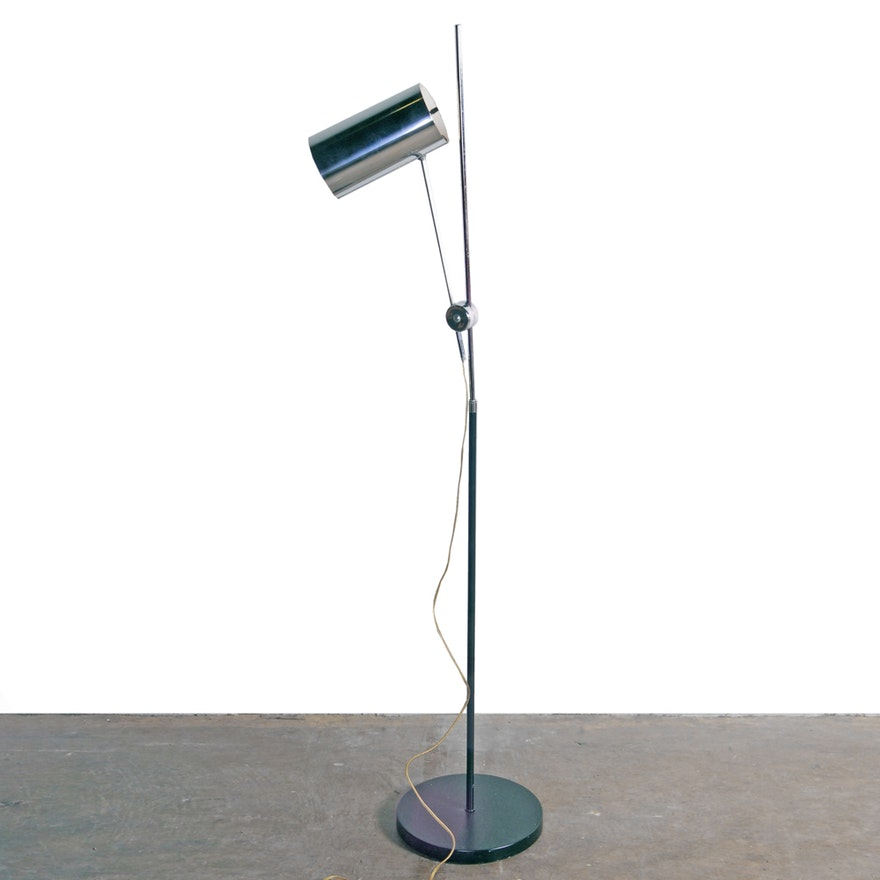 Mid Century Modern Cantilevered Floor Lamp