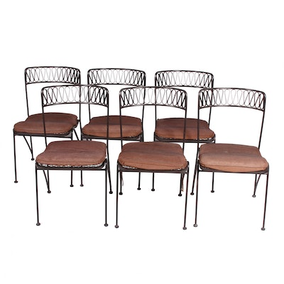 "Set of Six Maurizio Tempestini for John Salterini ""Ribbon"" Chairs"