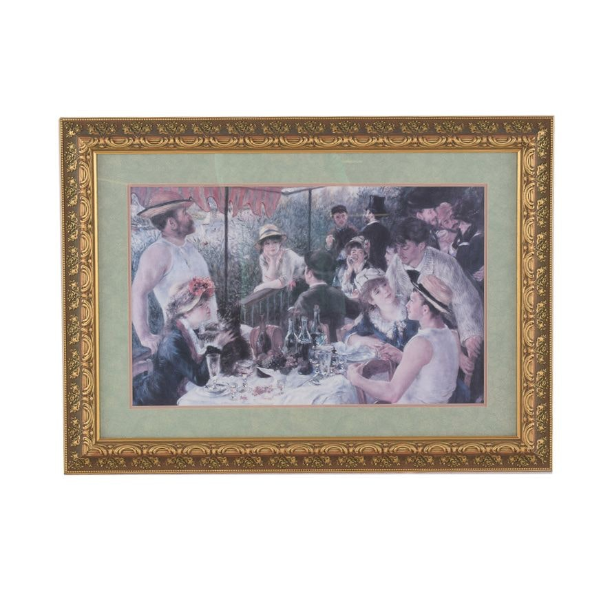 """Offset Lithograph After Pierre-Auguste Renoir """"Luncheon of the Boating Party"""""""