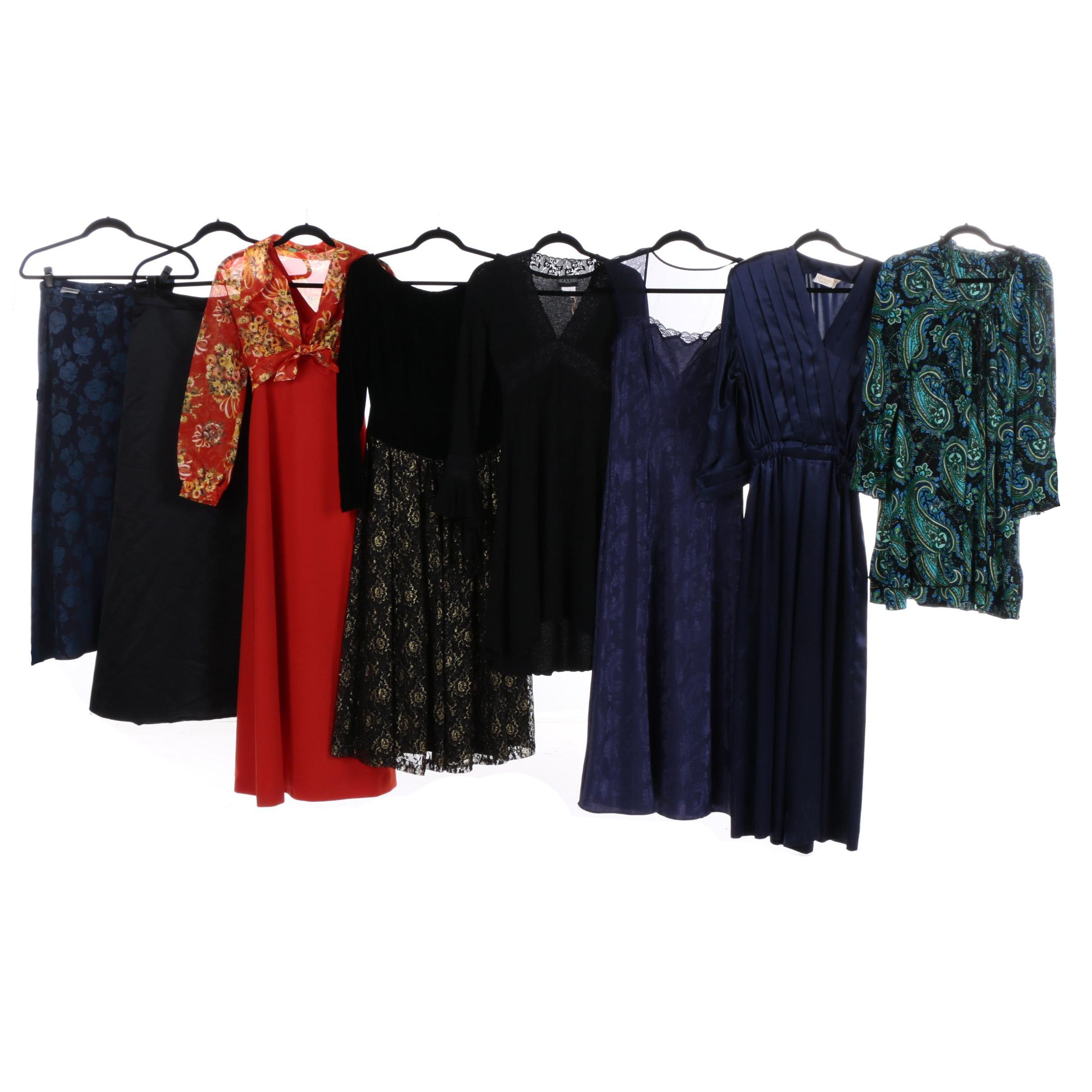 Women's Dresses Including Vintage and Laura Ashley
