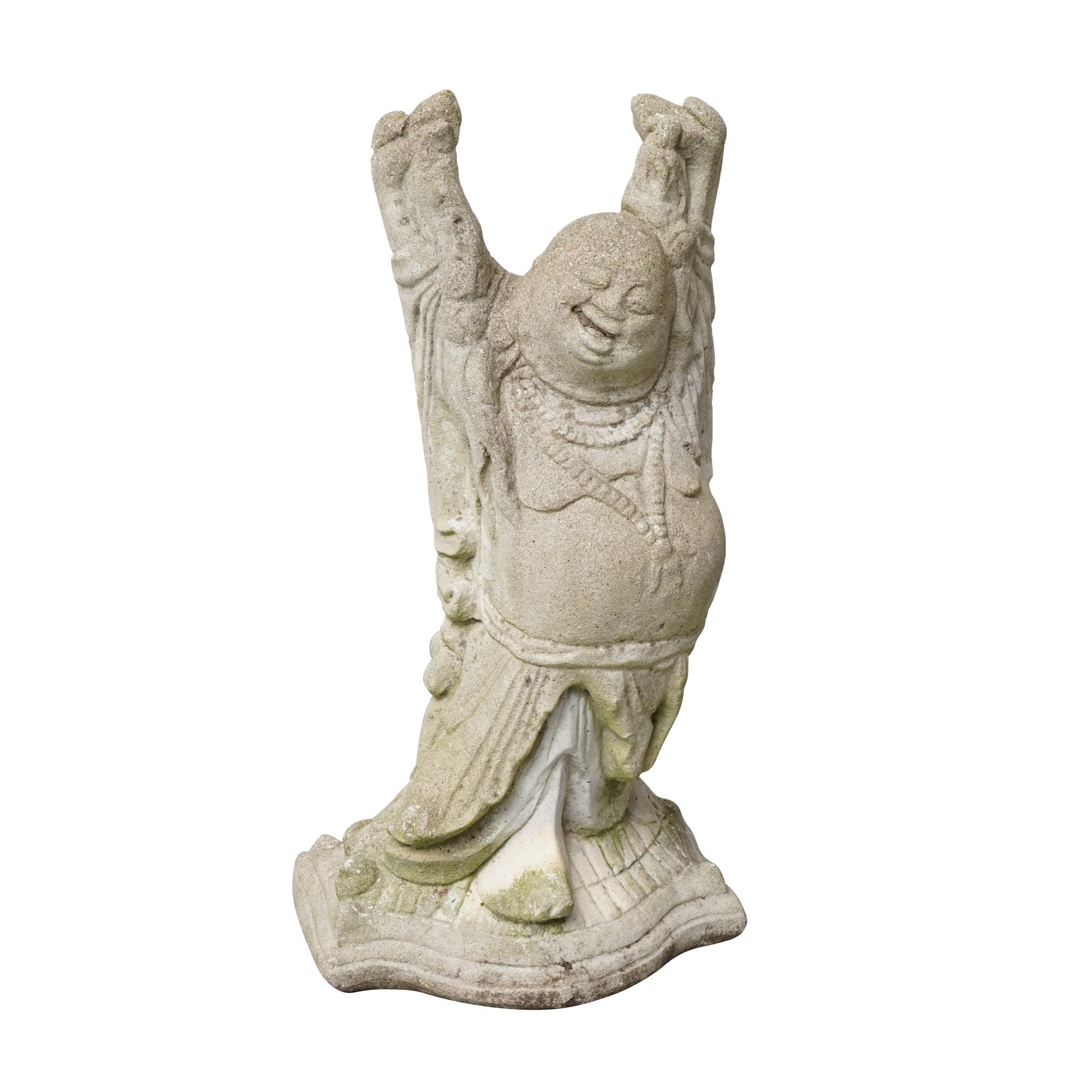 Concrete Buddha Garden Sculpture