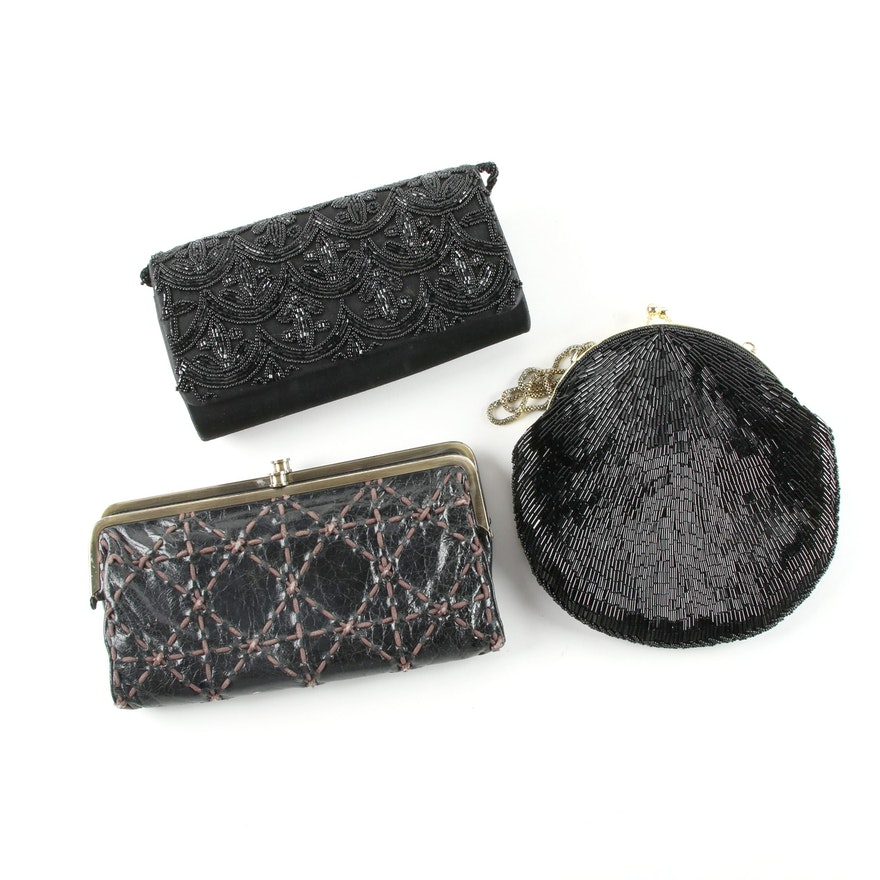 c8e3c0854f5c Beaded Bags Including La Regale and Hobo International Leather Wallet   EBTH