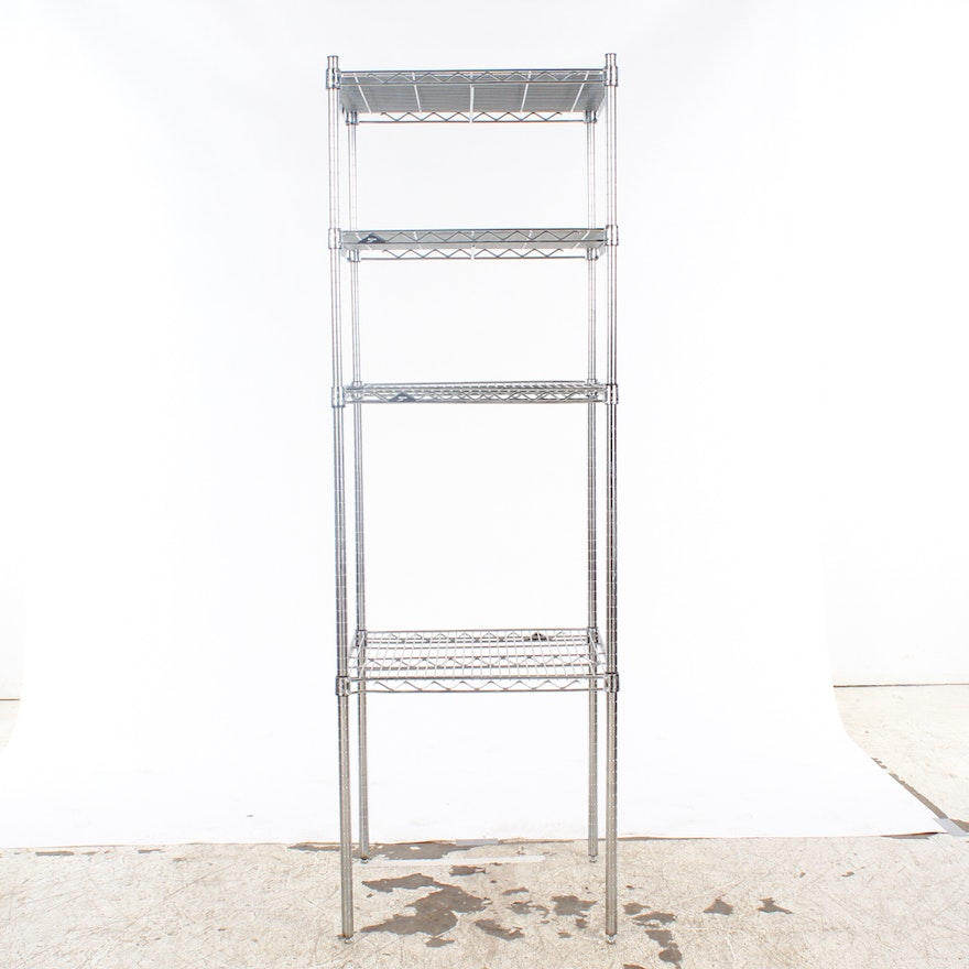 Metro Adjustable Metal Wire Shelving : EBTH