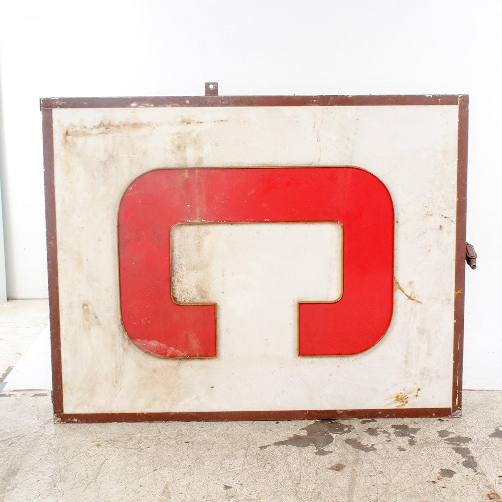 """Letter """"C"""" Sign"""