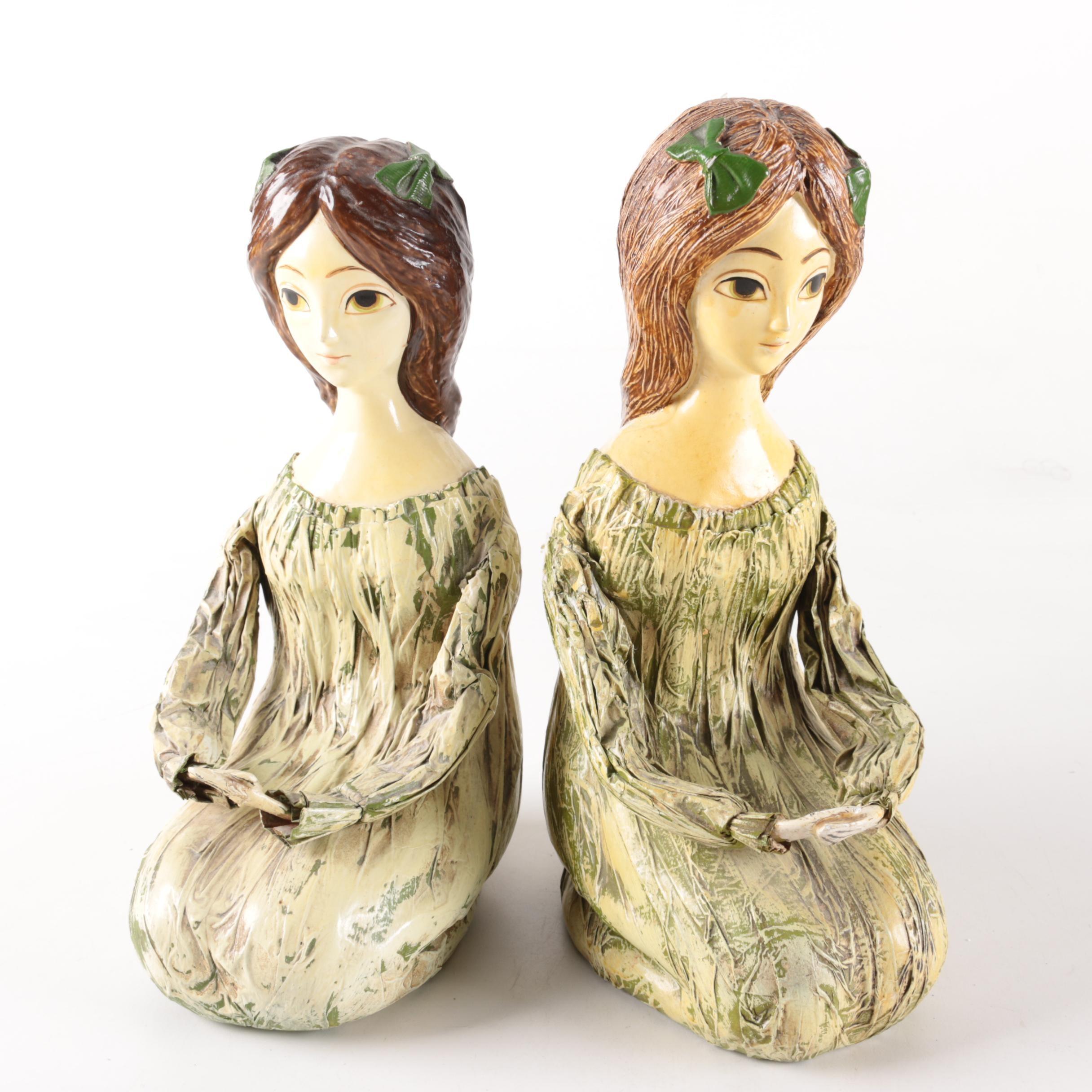 Maruyoshi Originals Paper Mache Figurines