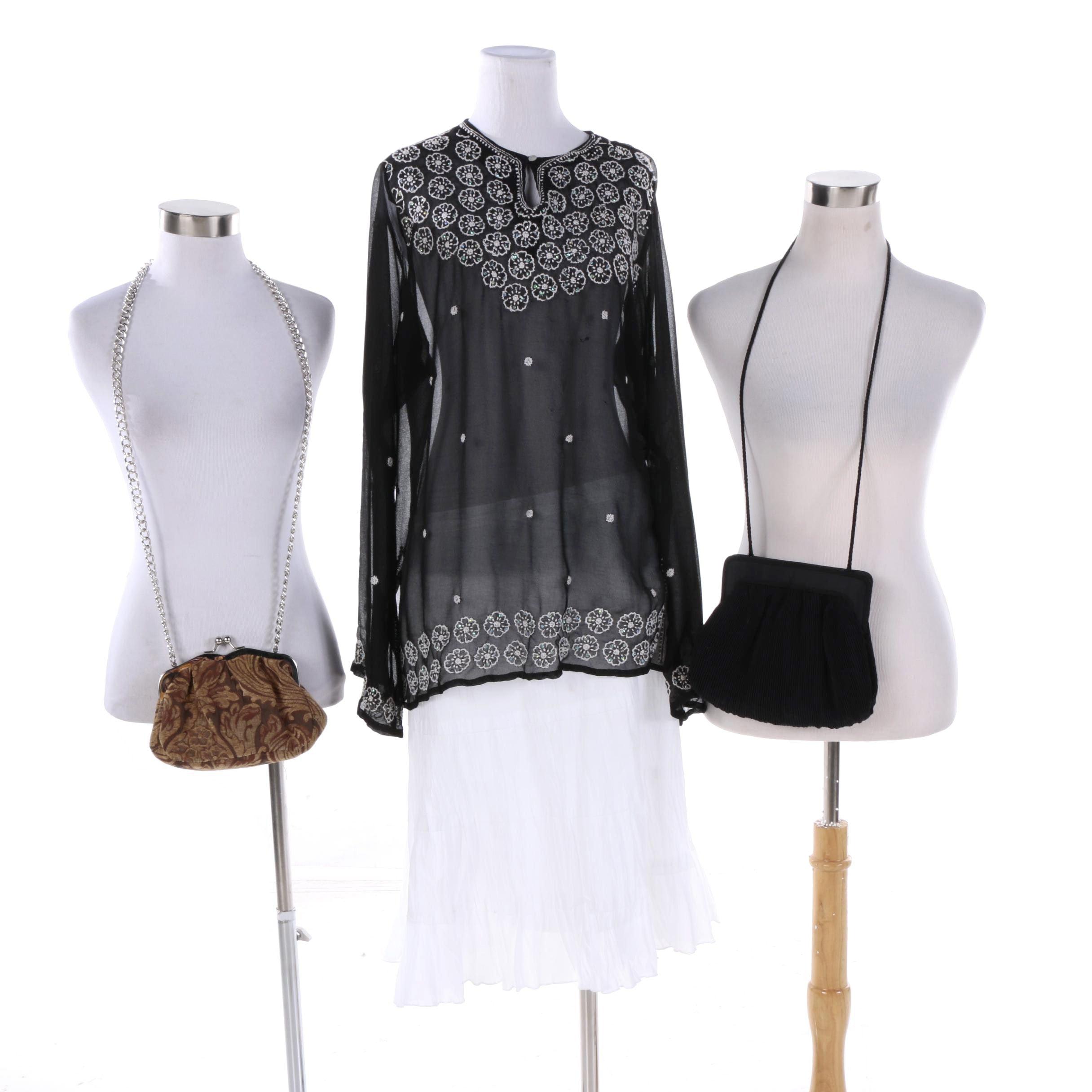 Women's Clothing and Handbags Including Cejon Beachwear and Apt 9