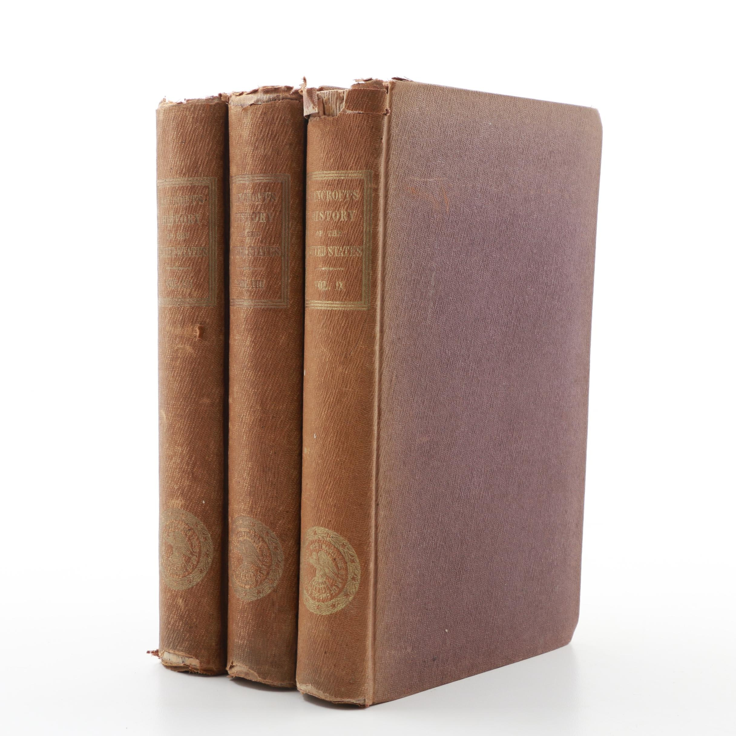 "Three Volumes ""History of the United States....The American Revolution"","
