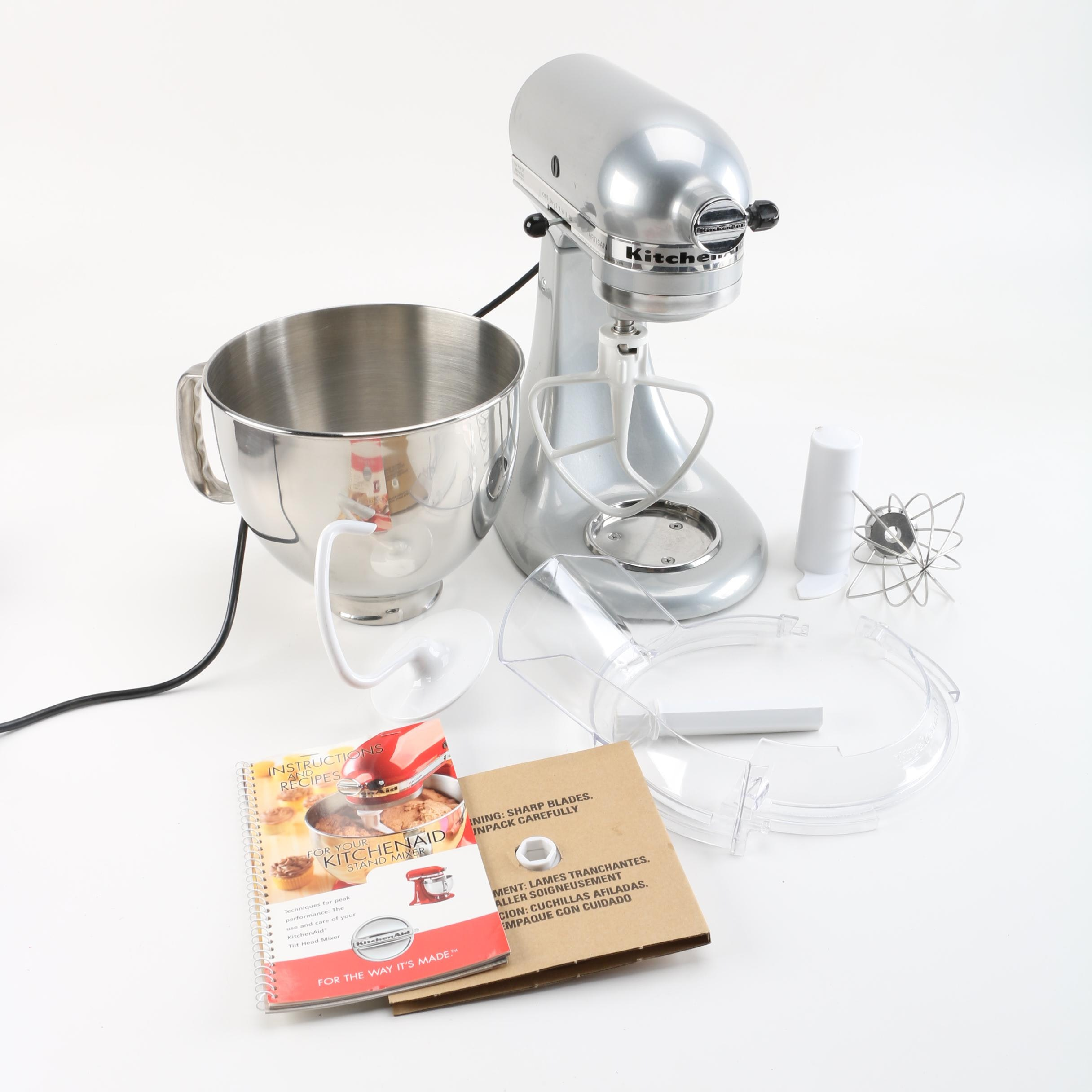 KitchenAid Artisan Stand Mixer with Accessories