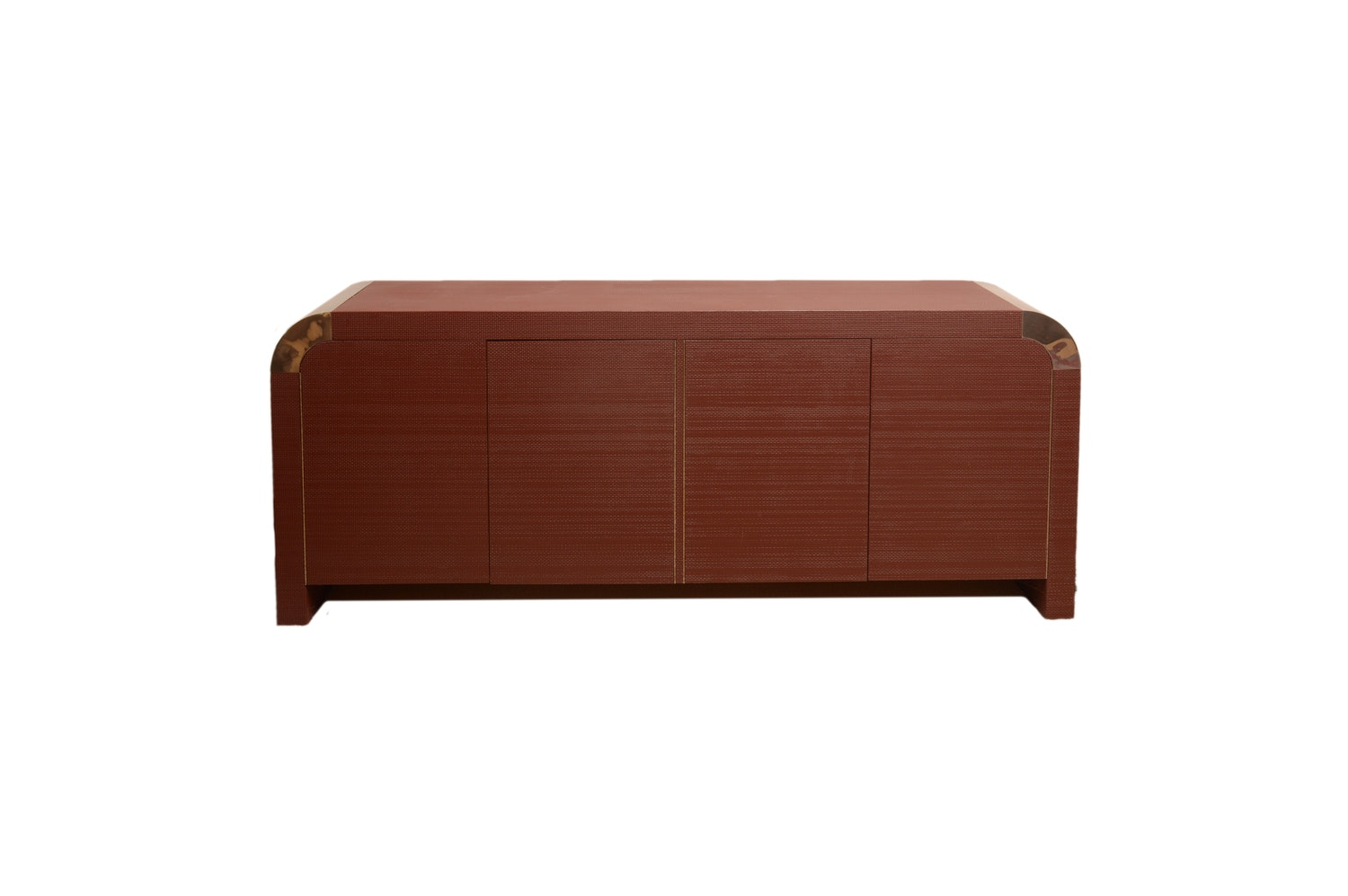 Deco Revival Style Textured Credenza