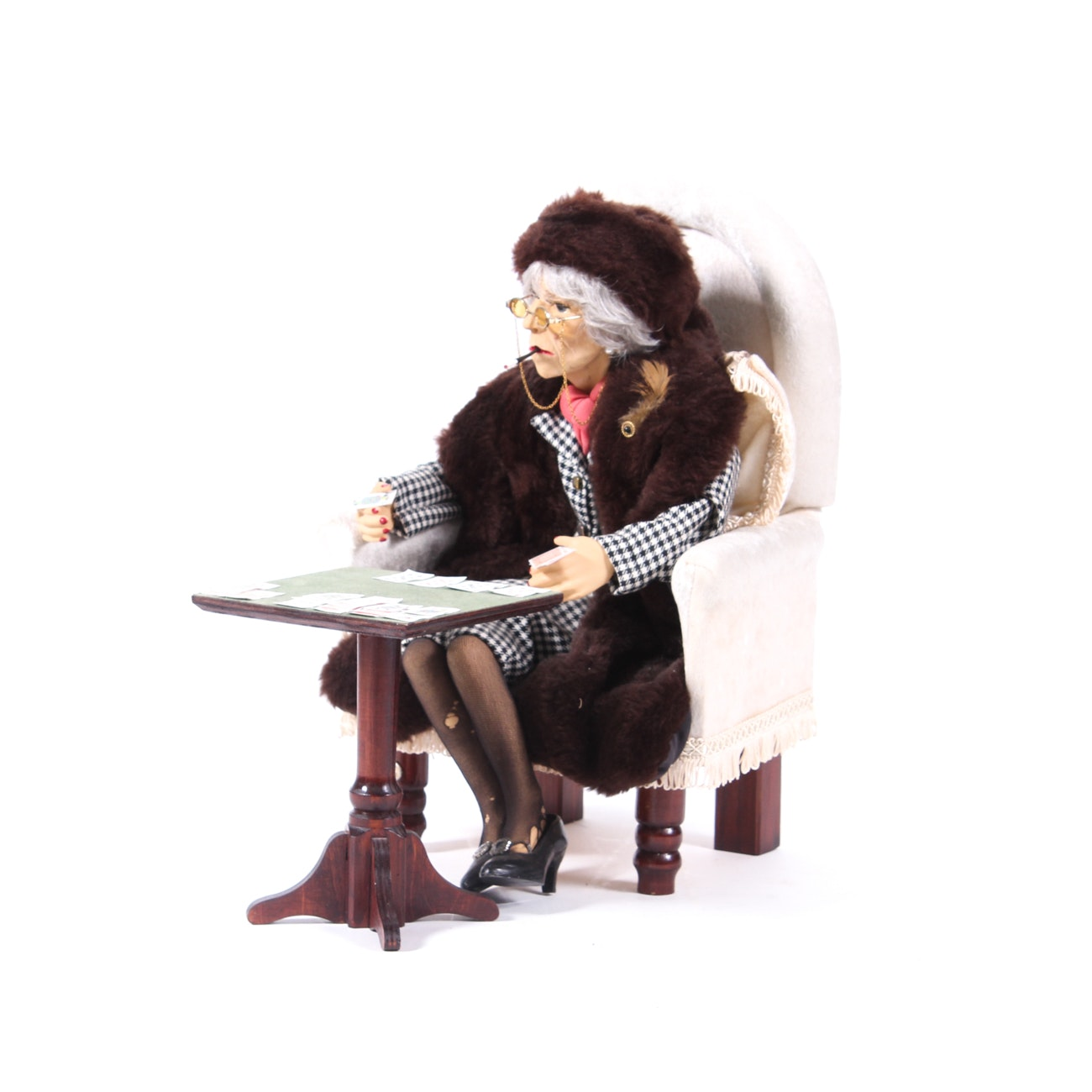 """Hobo Designs Limited Edition """"Hilda"""" Resin Sculpture by Scott and Gill Harris"""