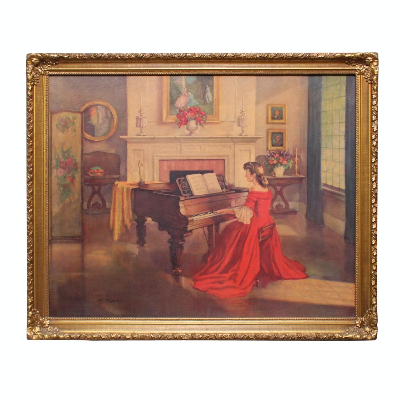 "M. Ditlef Giclee Print ""Sonata"""