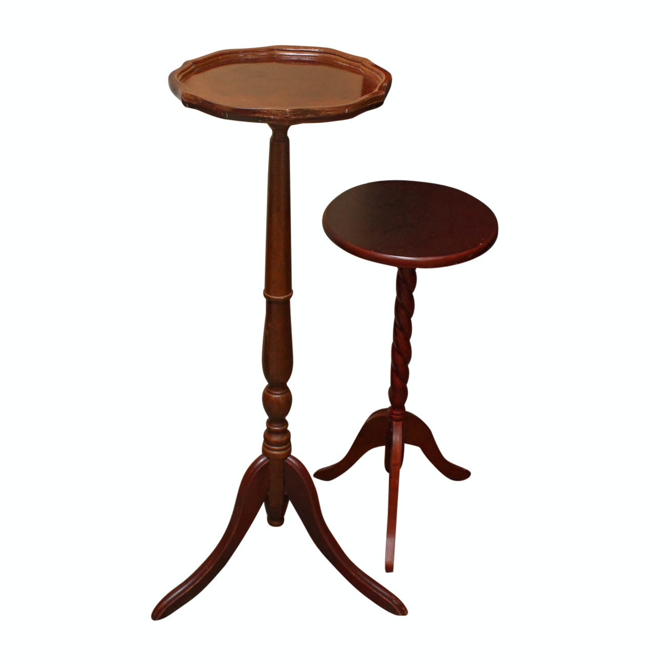 Wooden Pedestal Tables