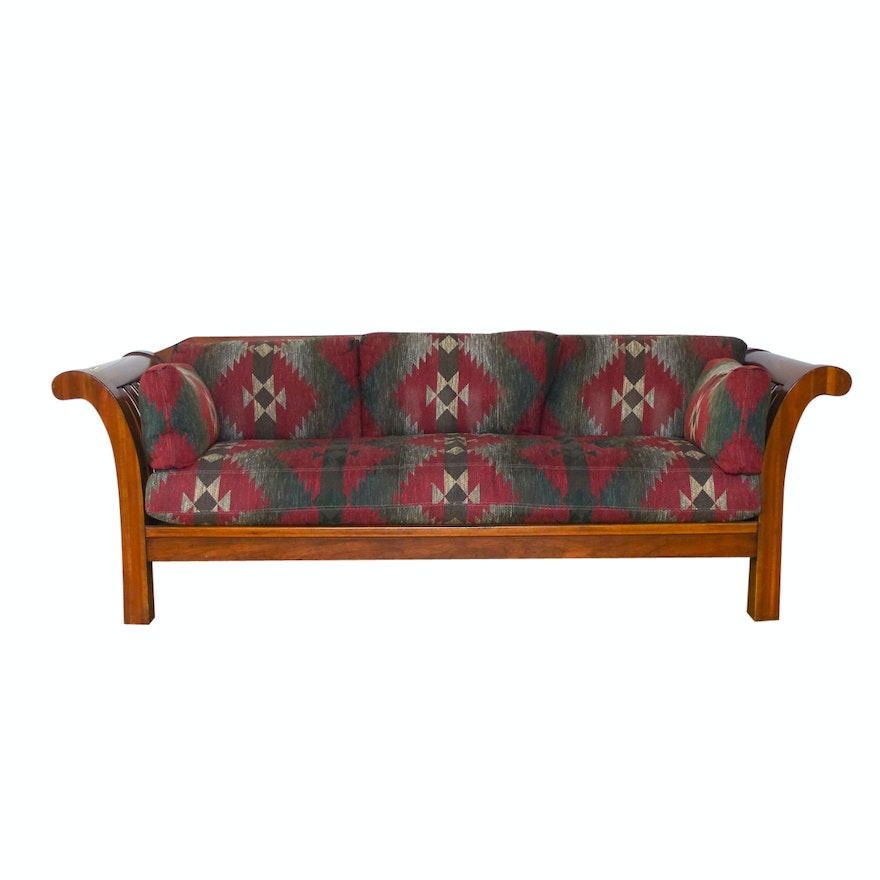 Hickory Chair Company Southwest Mission Style Sofa