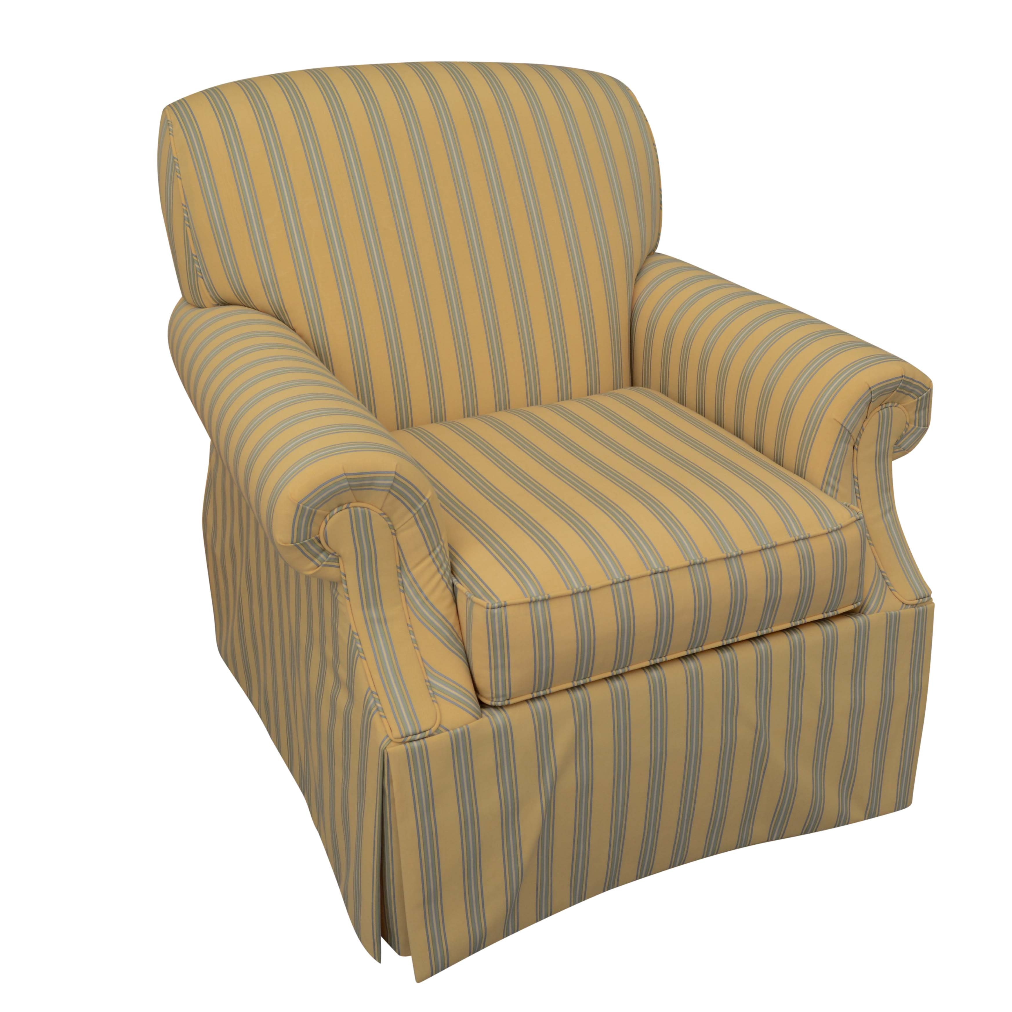 Upholstered Lounge Chair by Kravet