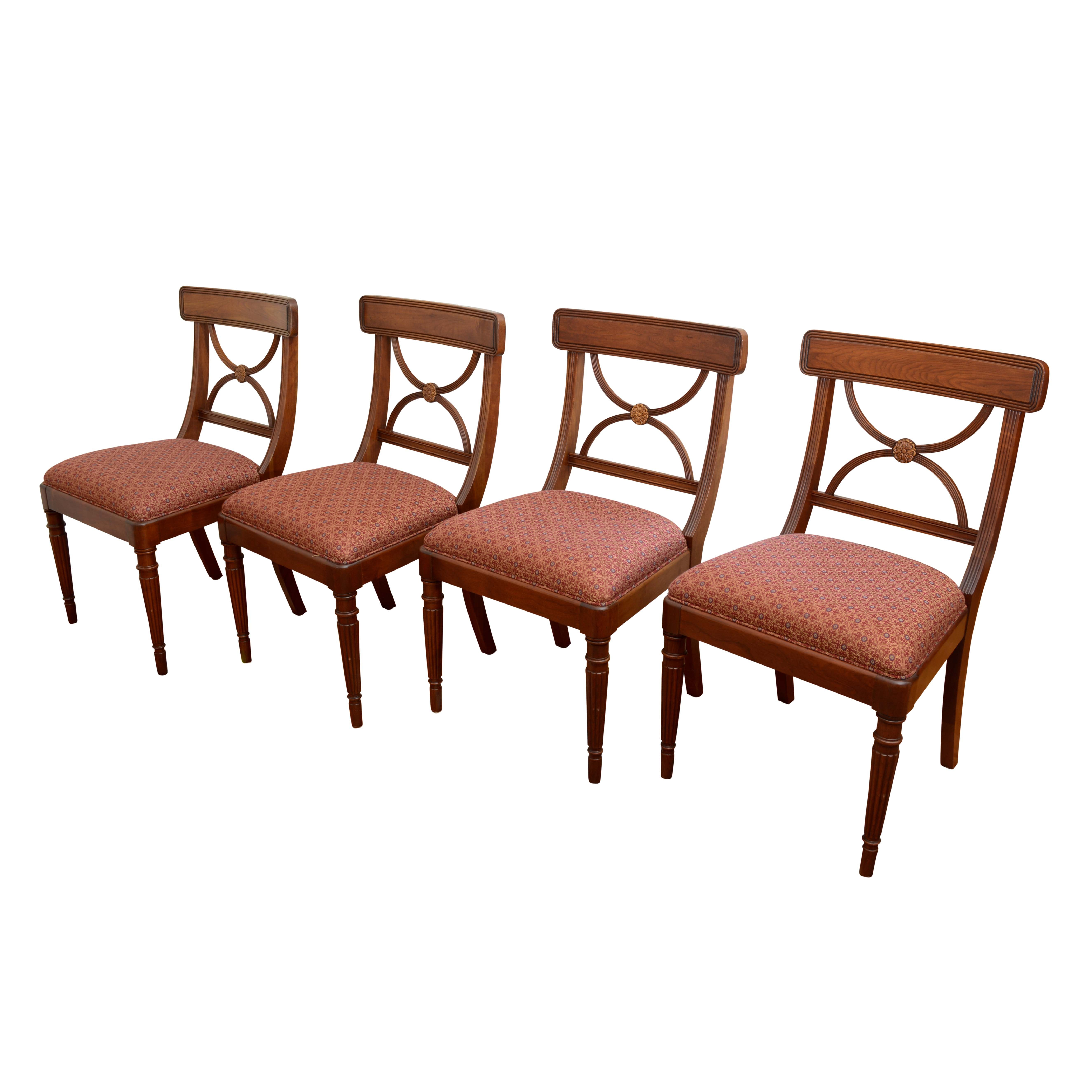Sheraton Style Side Chairs by Statton
