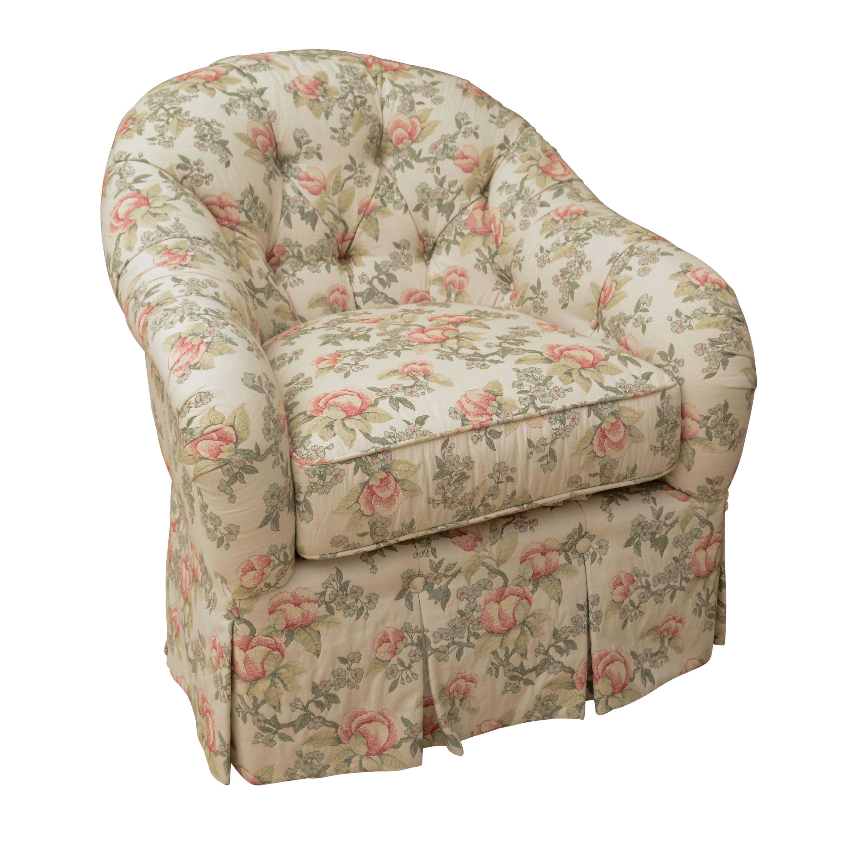 Upholstered Club Chair by Kravet