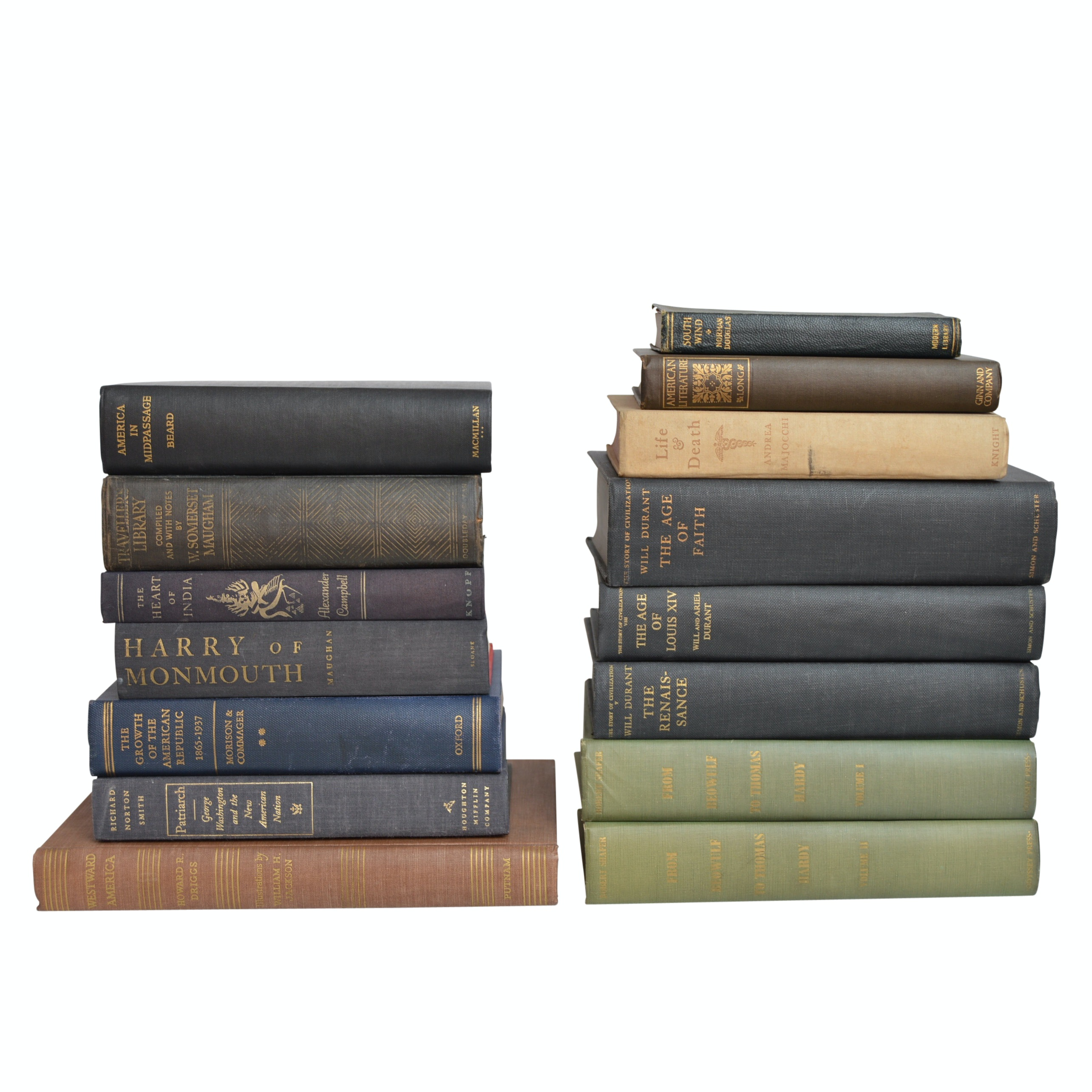Vintage Books on European and American History with First Editions,