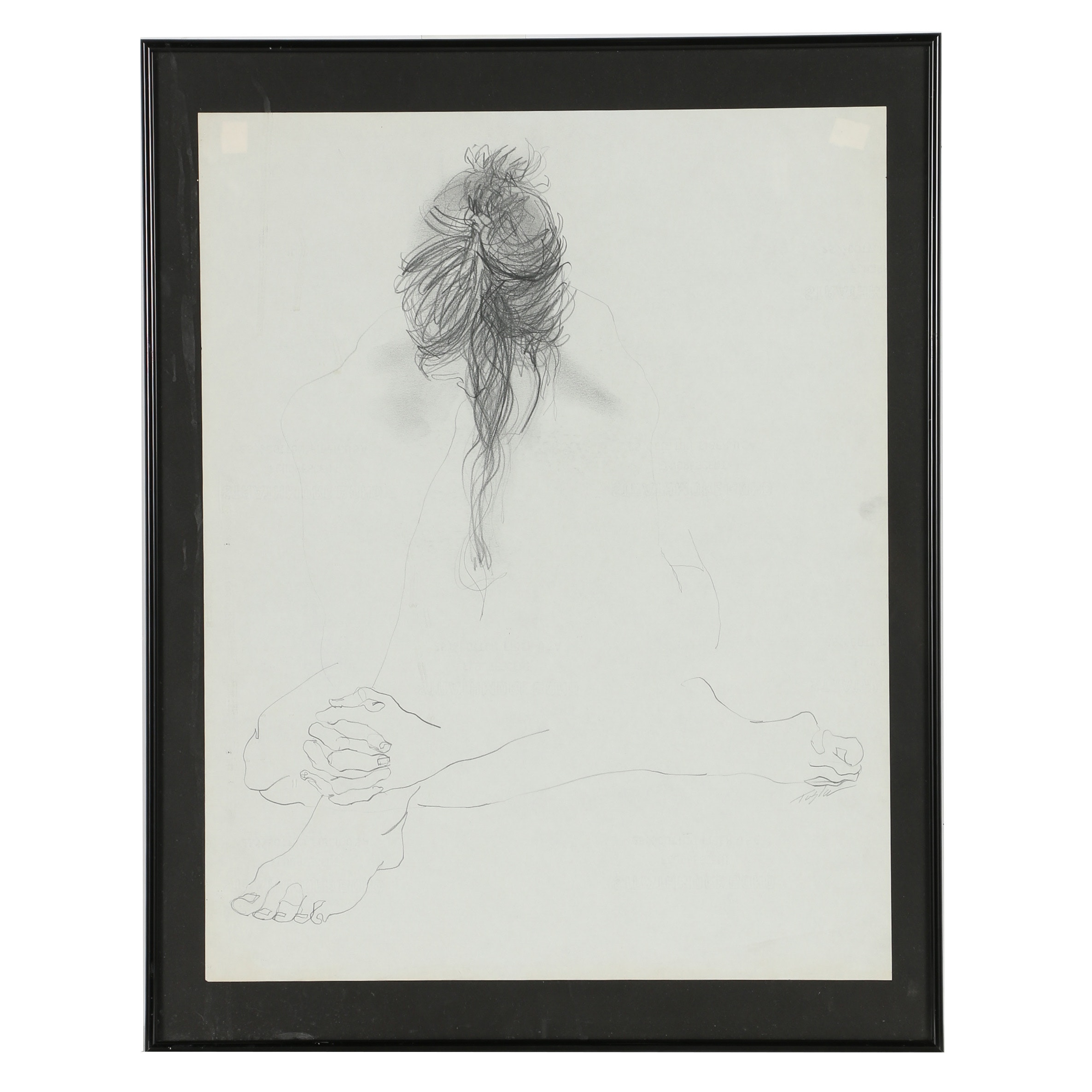 John Tuska Graphite Drawing