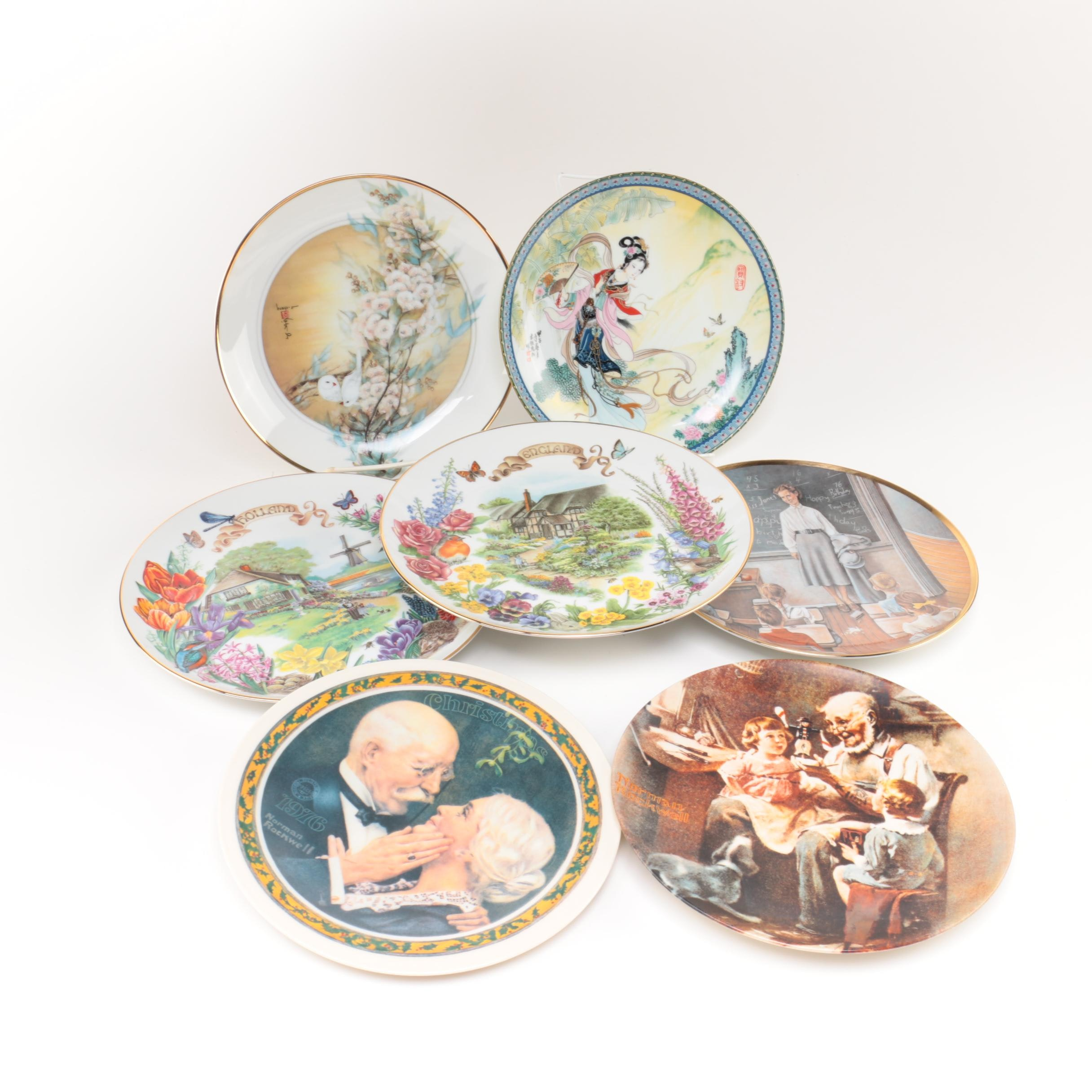 Assortment of Ceramic and Porcelain Decorative Plates ...  sc 1 st  EBTH.com & Assortment of Ceramic and Porcelain Decorative Plates : EBTH