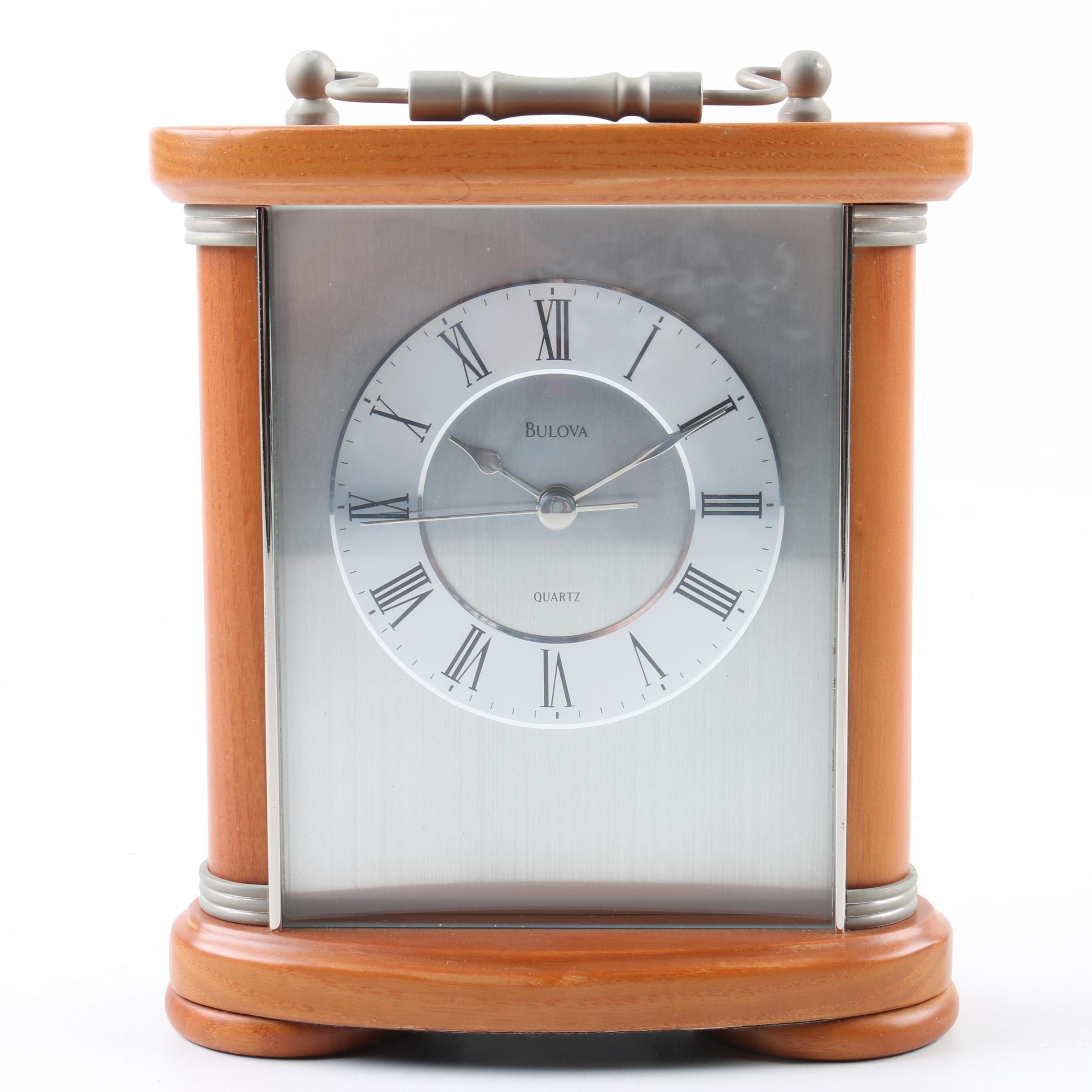 Bulova Modern Carriage Clock