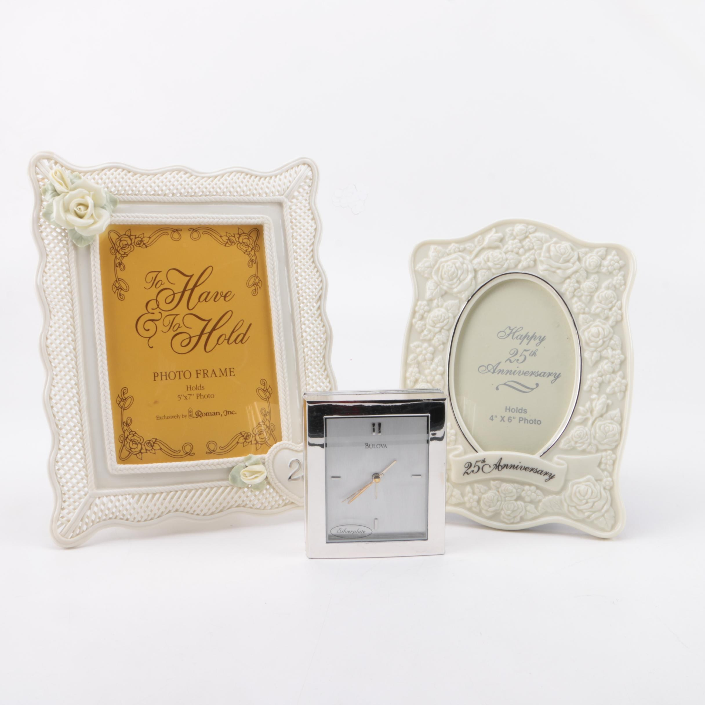Picture Frames for 25th Anniversaries