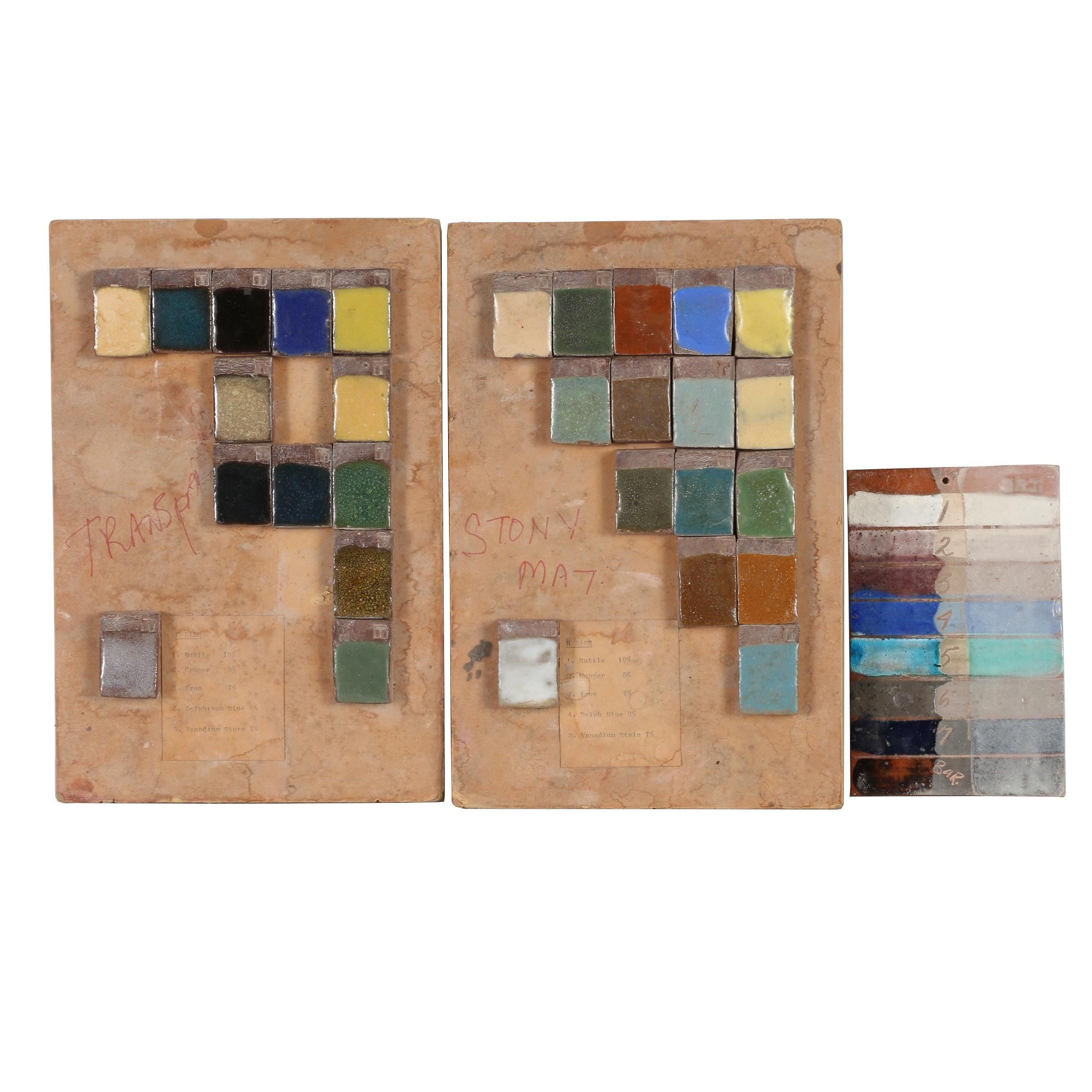 John Tuska Ceramic Glaze Sample Sets