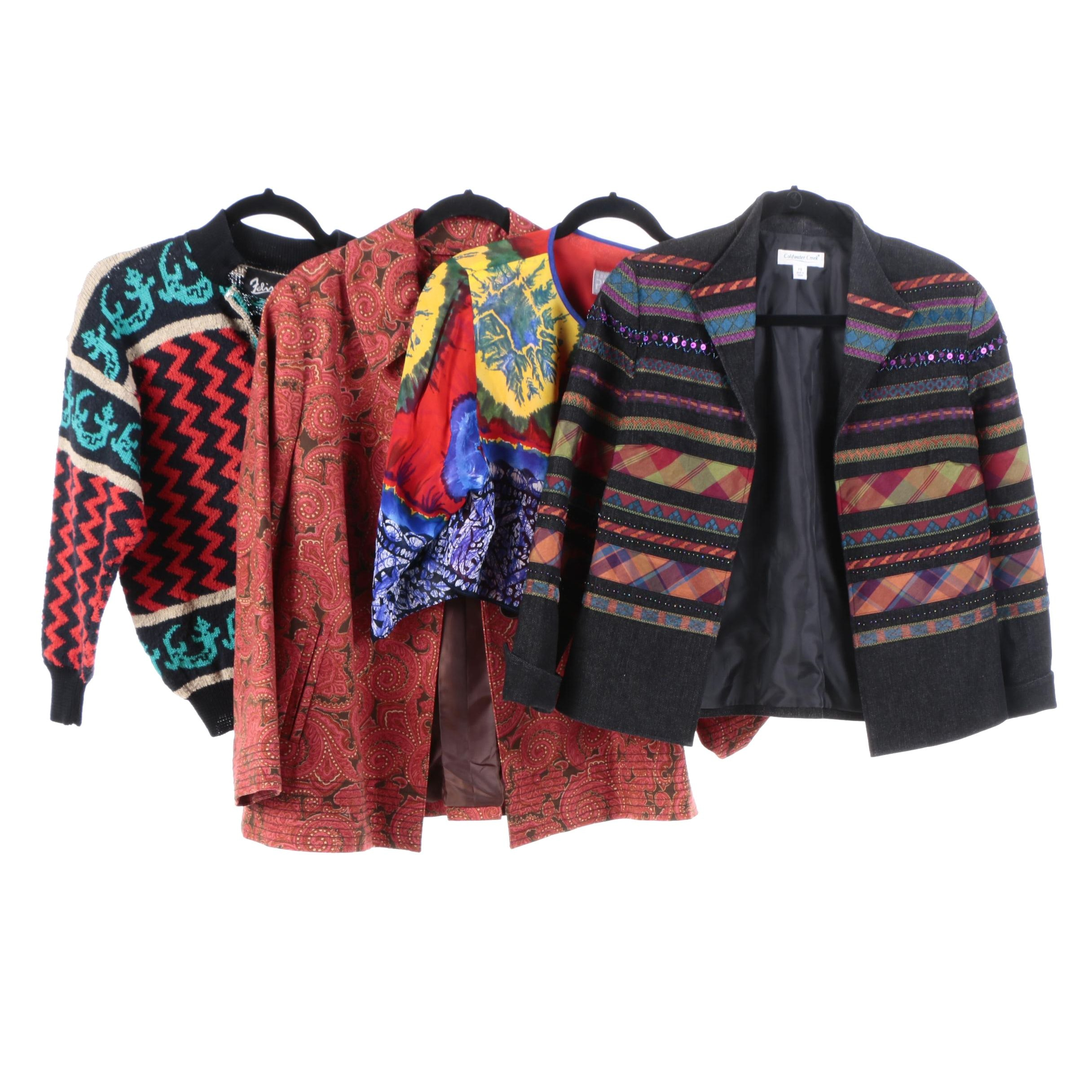 Women's Jackets and Caridgans Including Coldwater Creek and Talbots