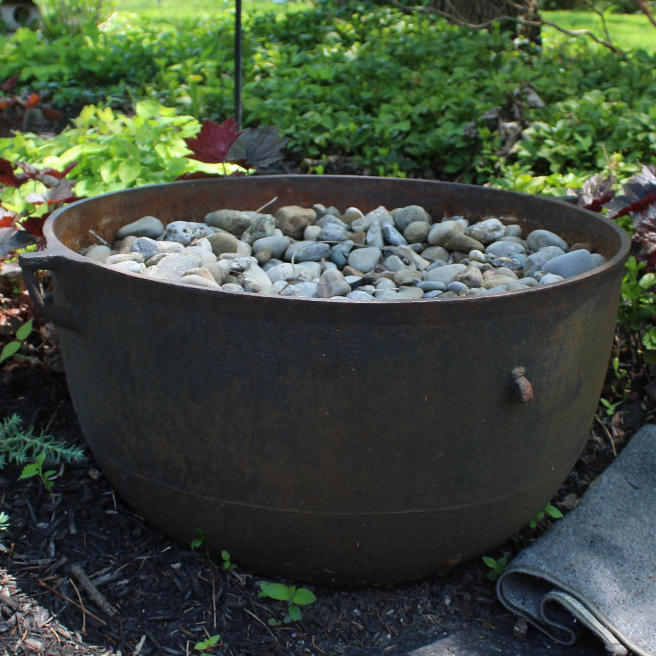 Outdoor Iron Planter