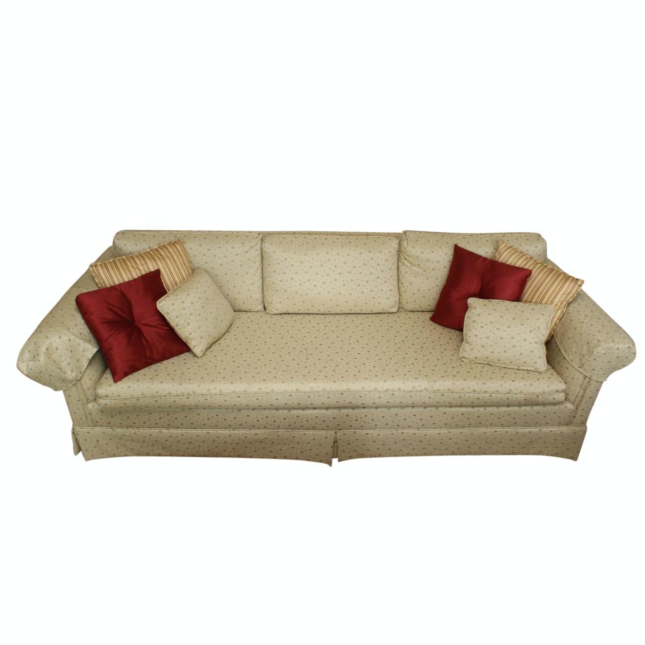 Vintage Upholstered Sofa