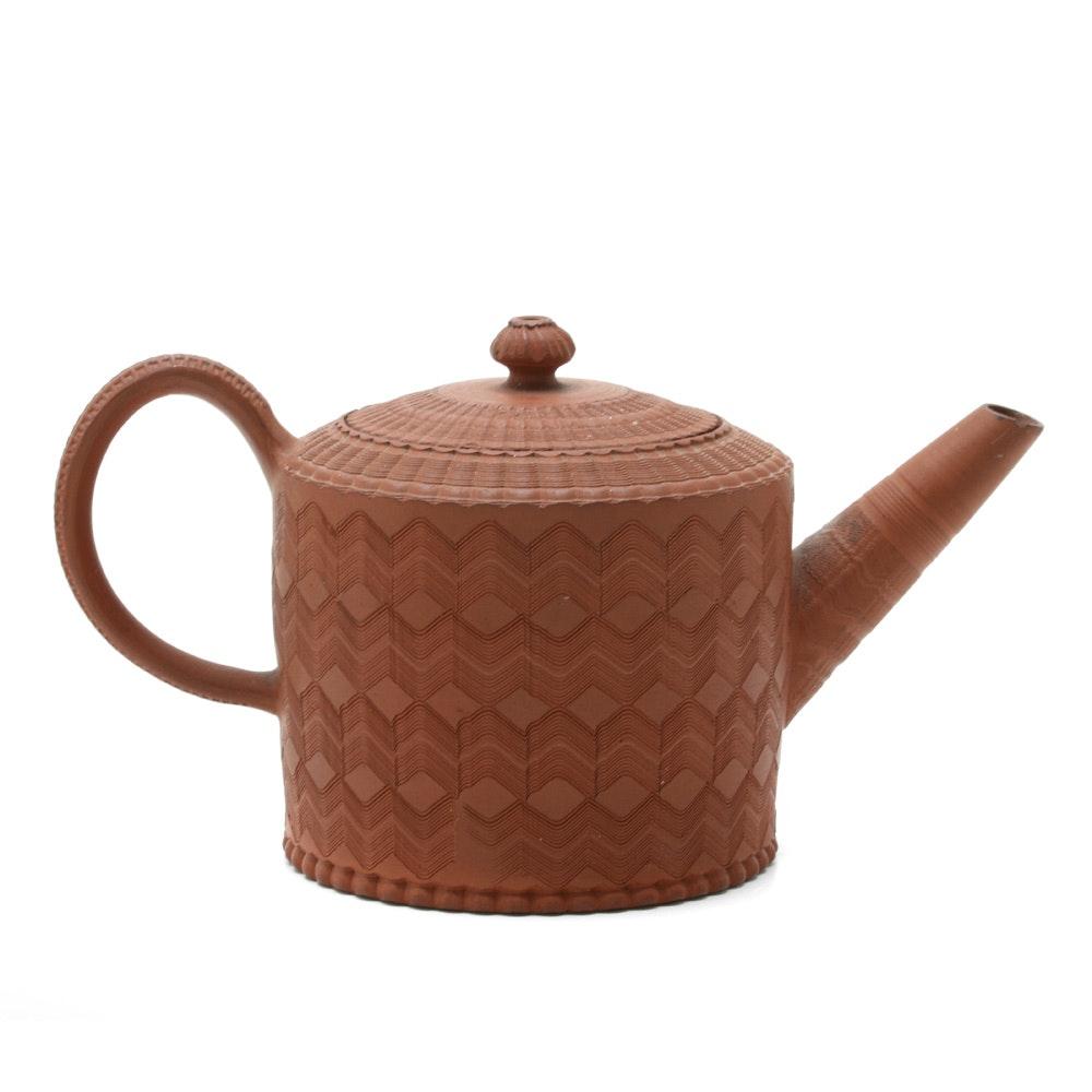 Late 18th Century Joseph Myatt Redware Teapot