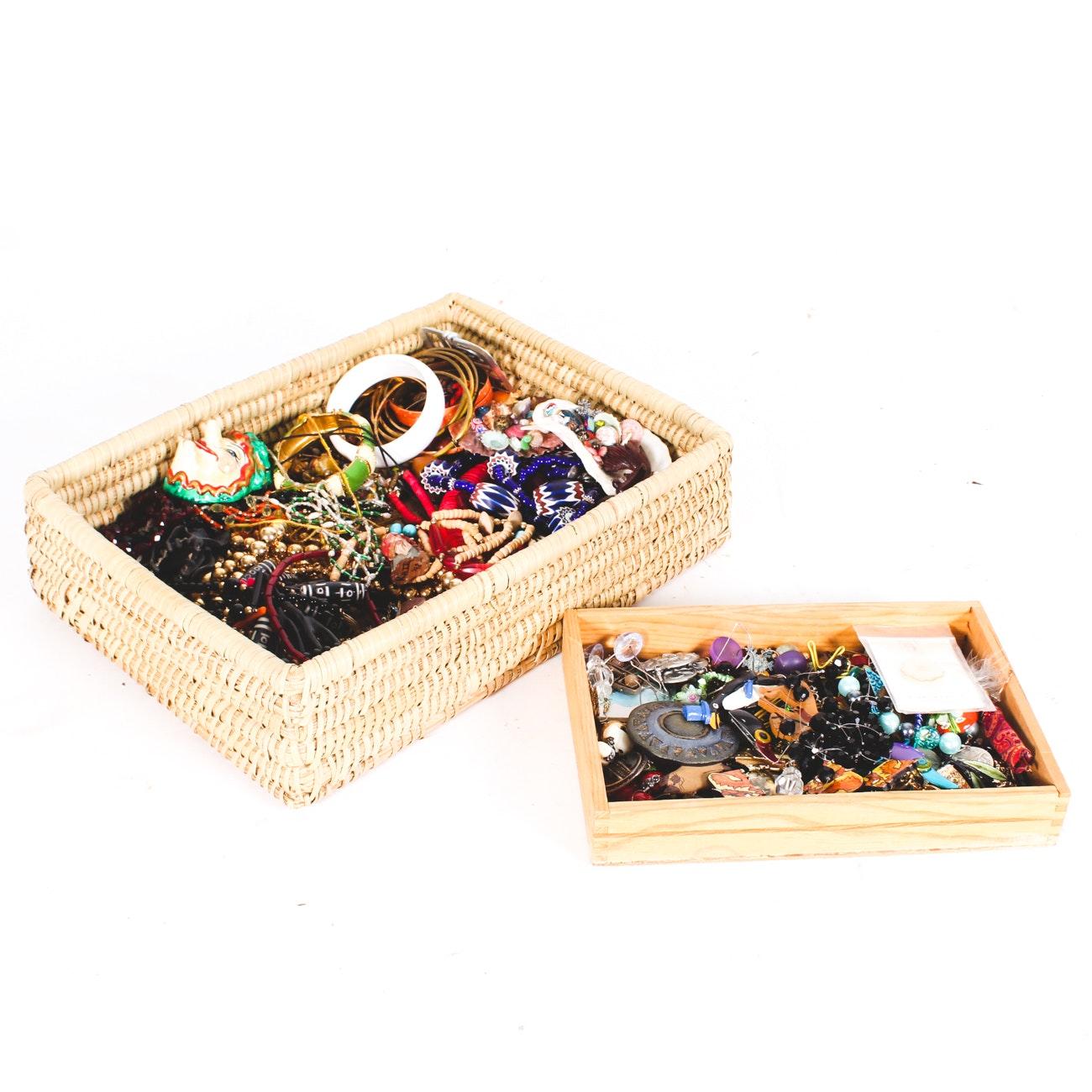 Large Assortment of Costume Jewelry