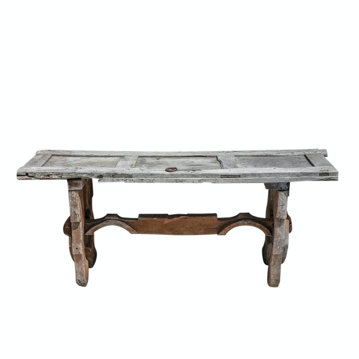 Handmade Salvaged Wood Outdoor Table