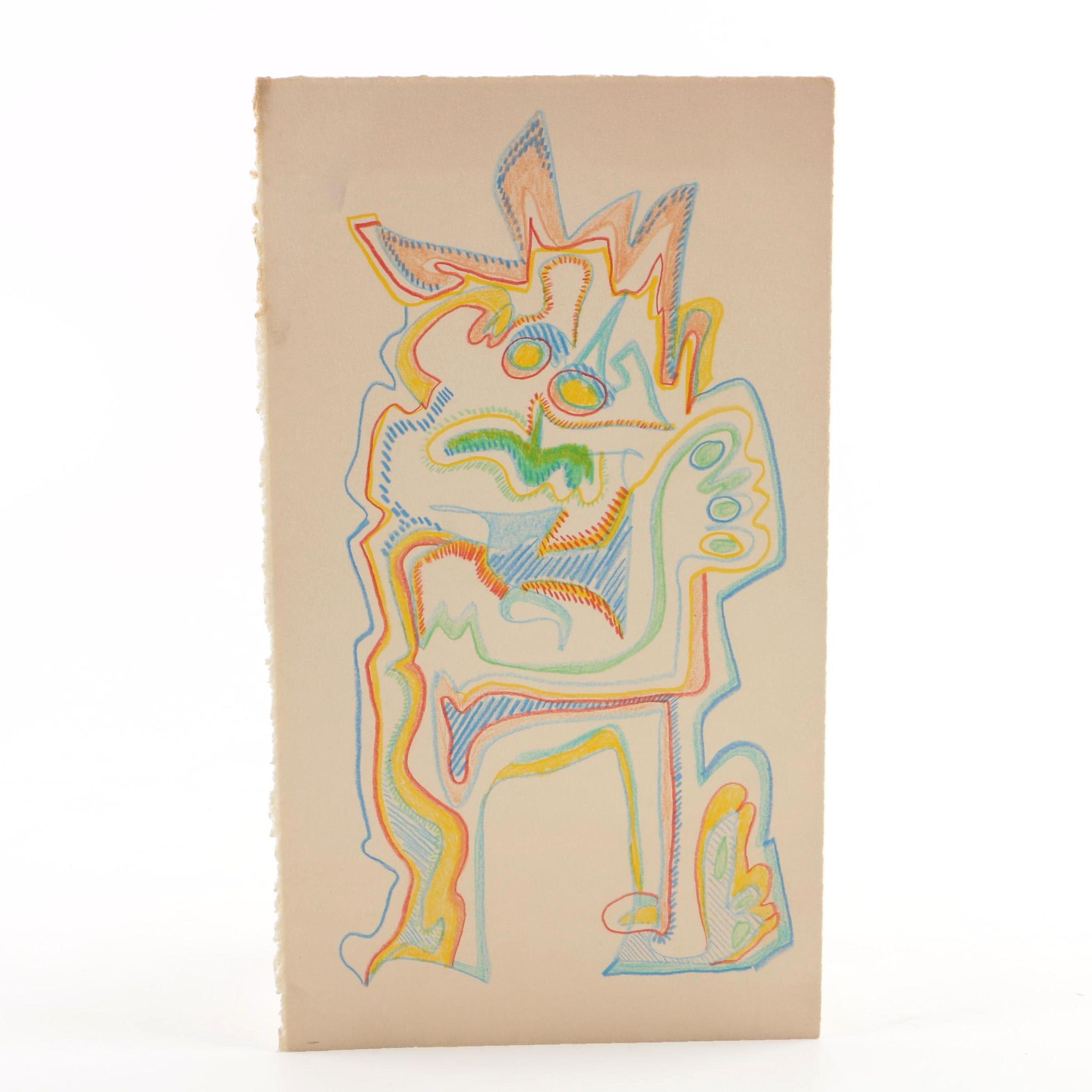 Martha Fairchild Colored Pencil Drawing