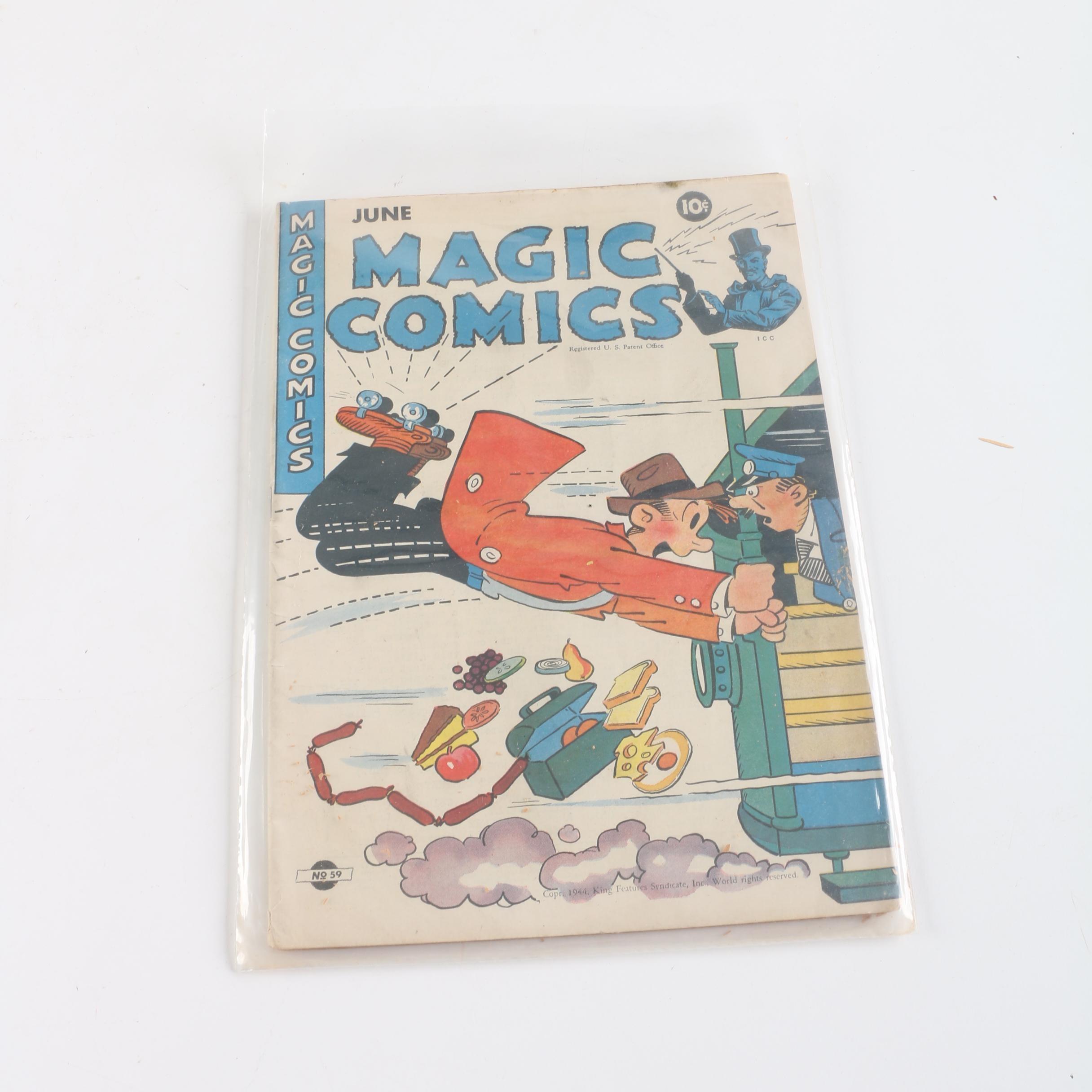 "1944 ""Magic Comics"" Issue #59 Comic Book"