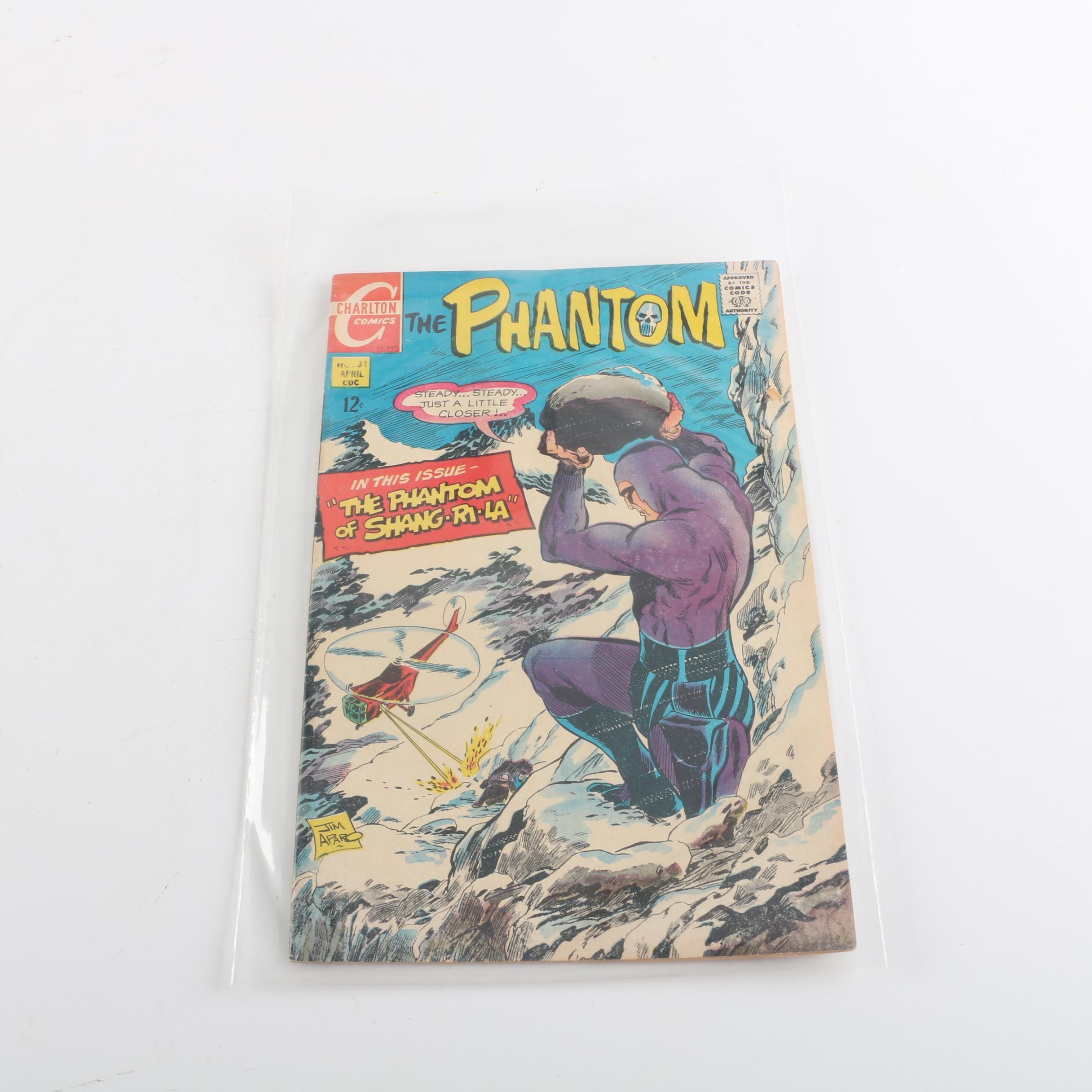 "1969 Charlton ""The Phantom"" Issue #31 Comic Book"