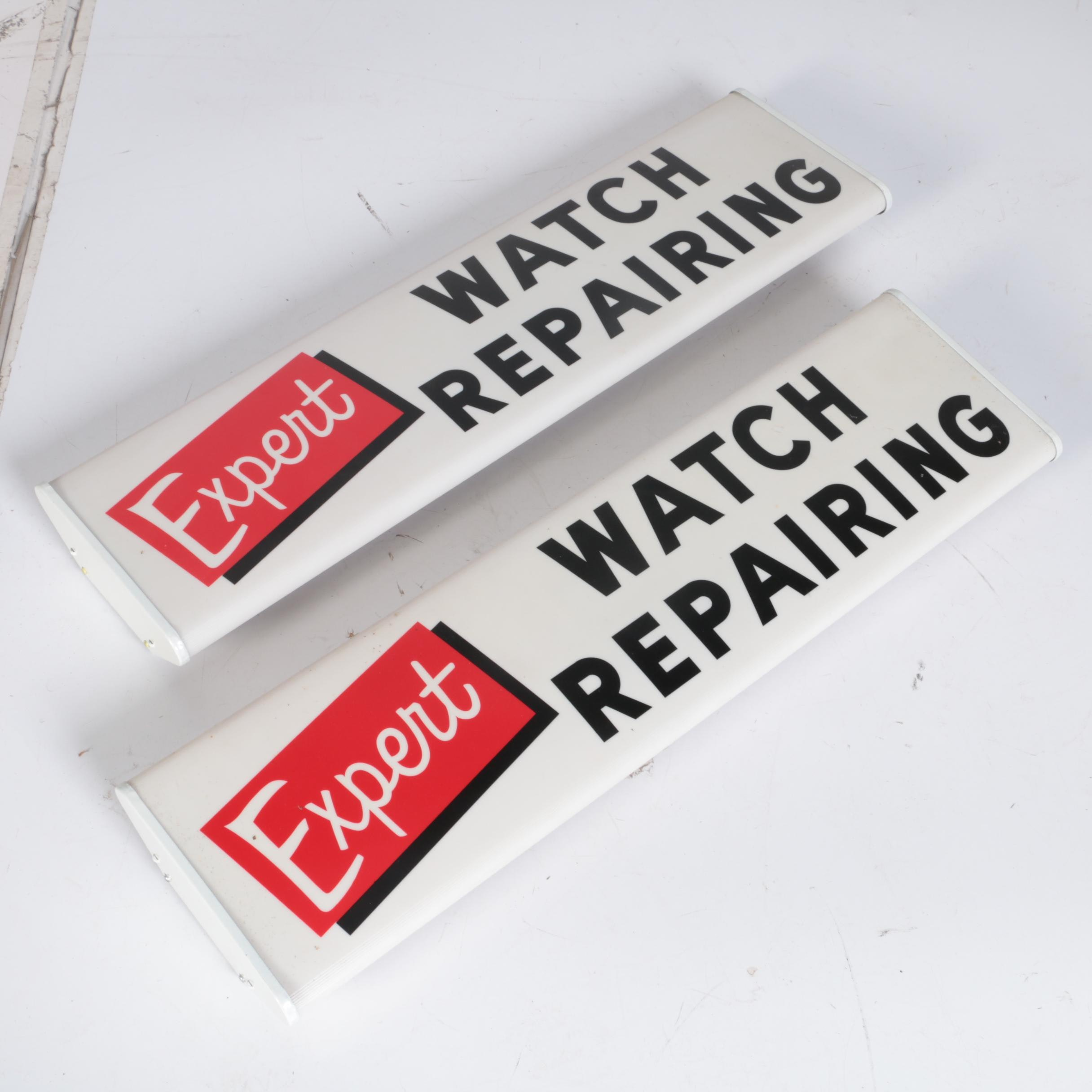 Expert Watch Repair Storefront Signage