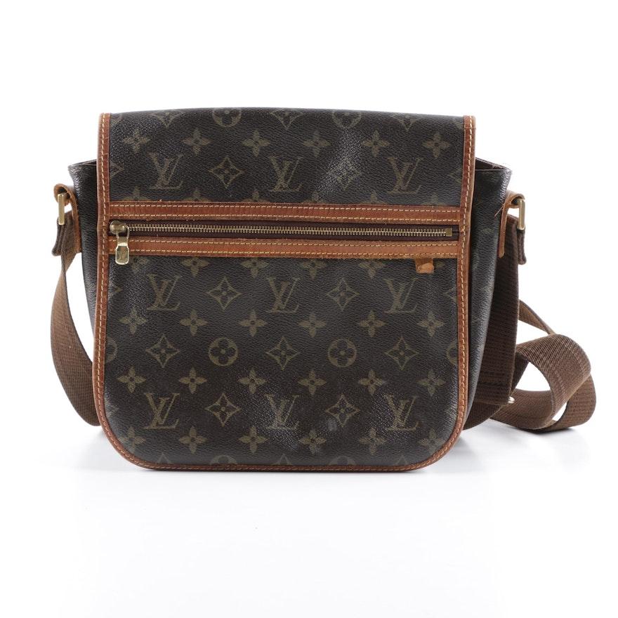 8e84e64cc744 Louis Vuitton Monogram Bosphore Messenger PM Bag   EBTH