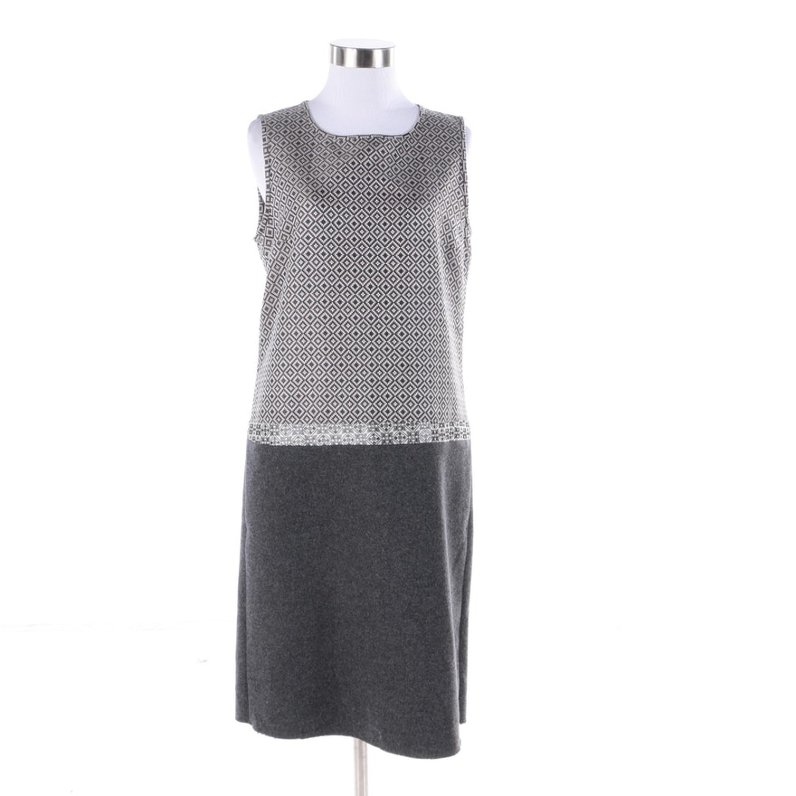 Outlet Store Cheap Online MaxMara Silk-Blend Sleeveless Dress Eastbay Cheap Price BF1isqoSbw