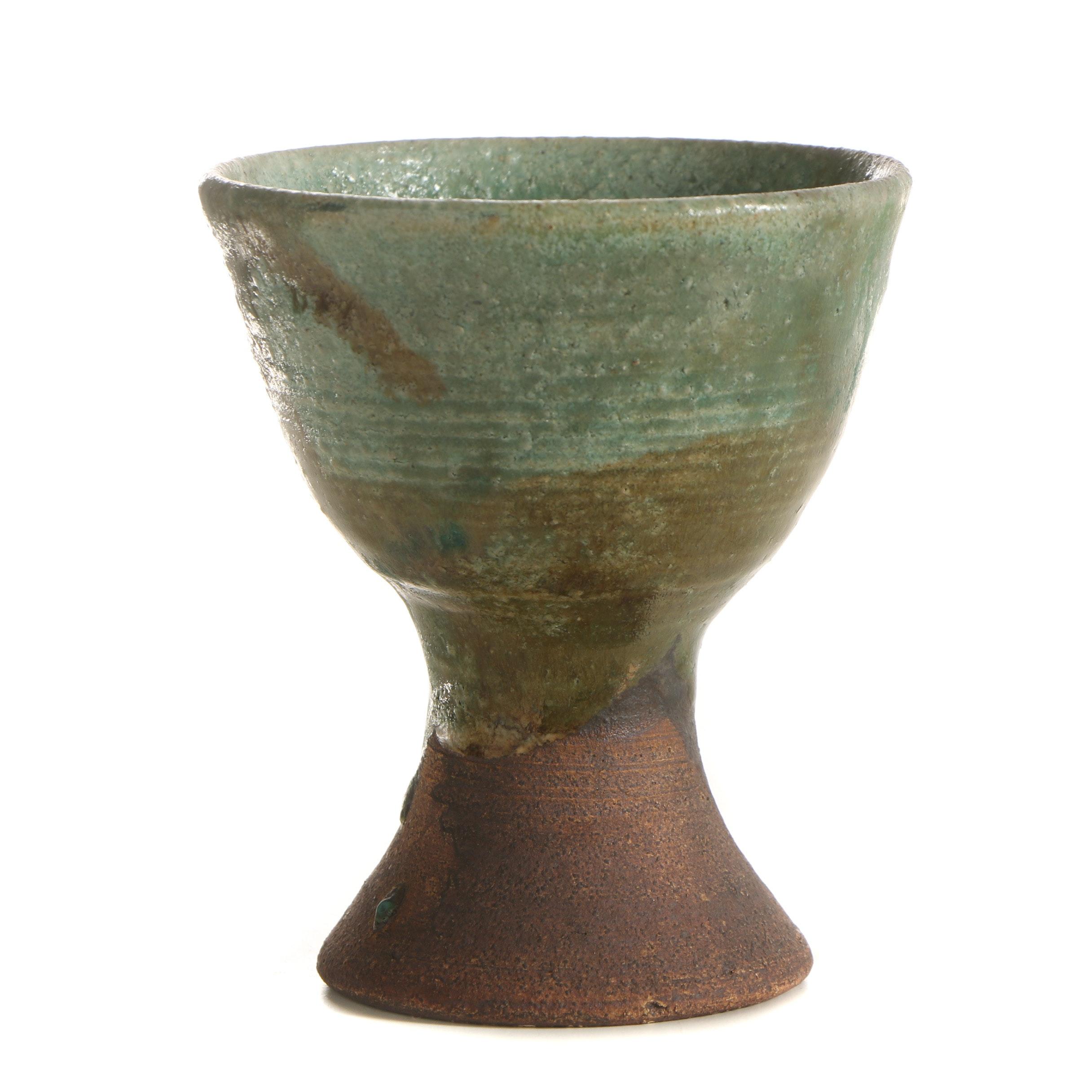 John Tuska Stoneware Goblet