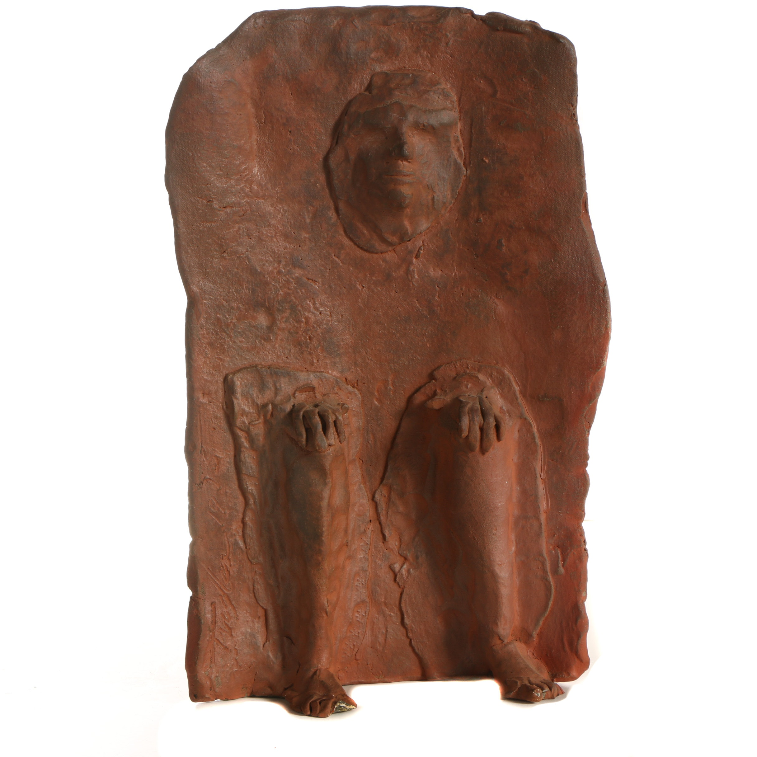 John Tuska Abstract Stoneware Figure