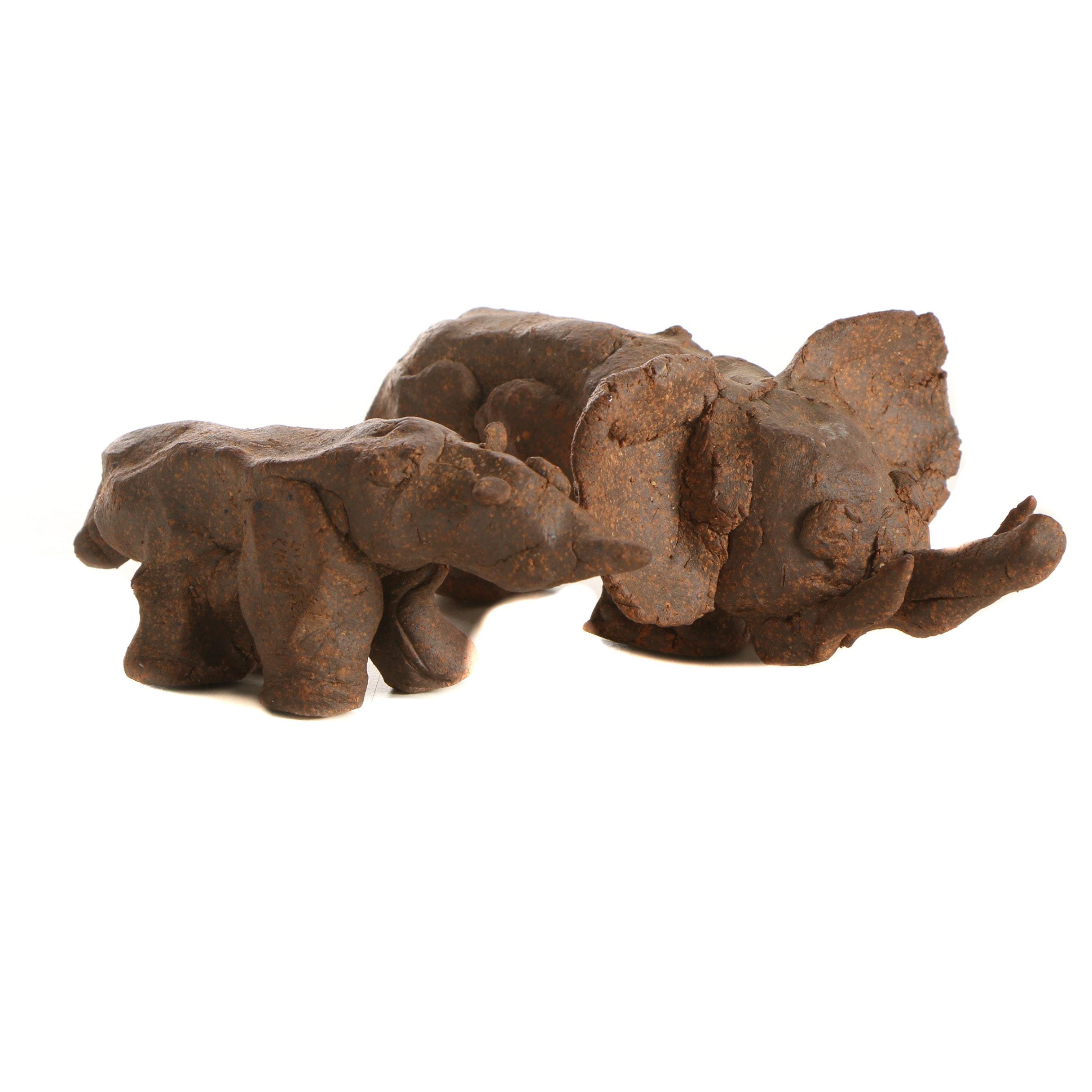 Seth Tuska Stoneware Animal Figures