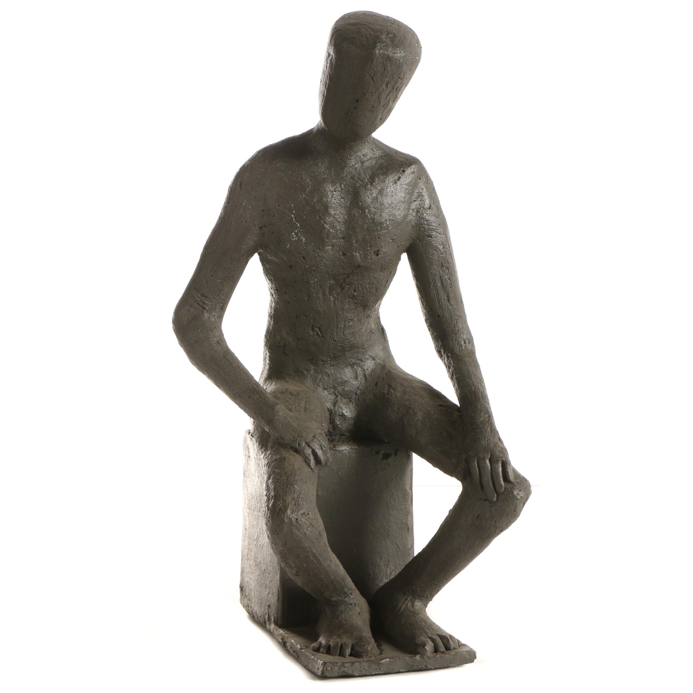 John Tuska Stoneware Sculpture