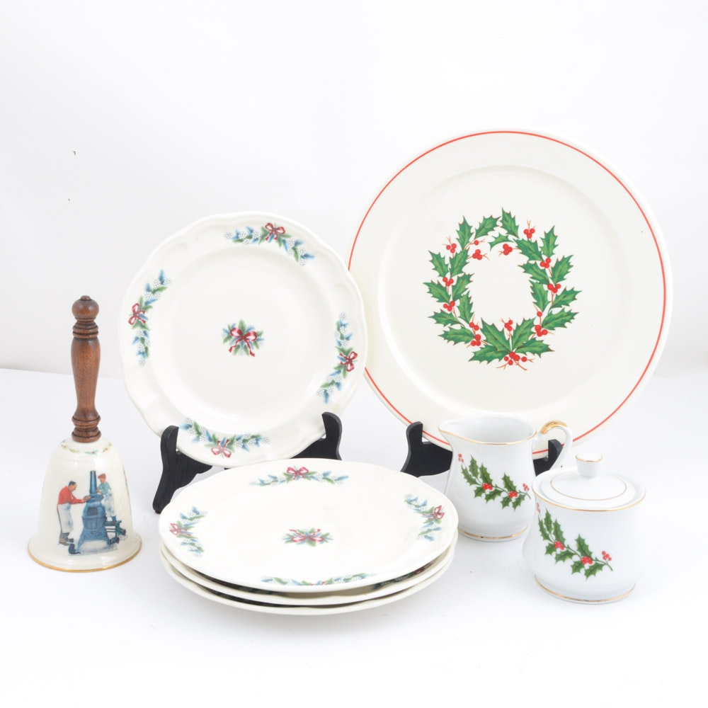 Christmas Themed Tableware