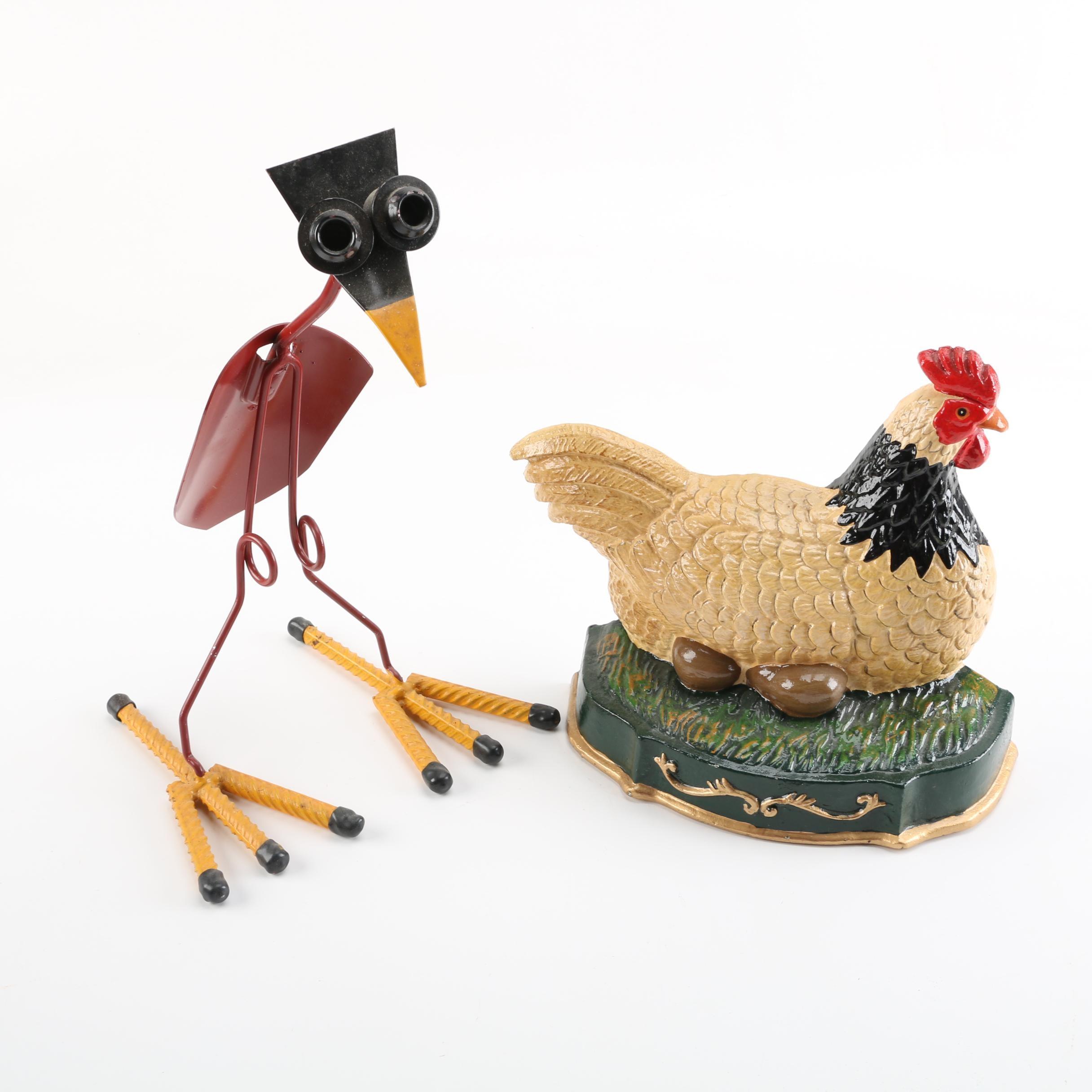 Bird Themed Patio Decor