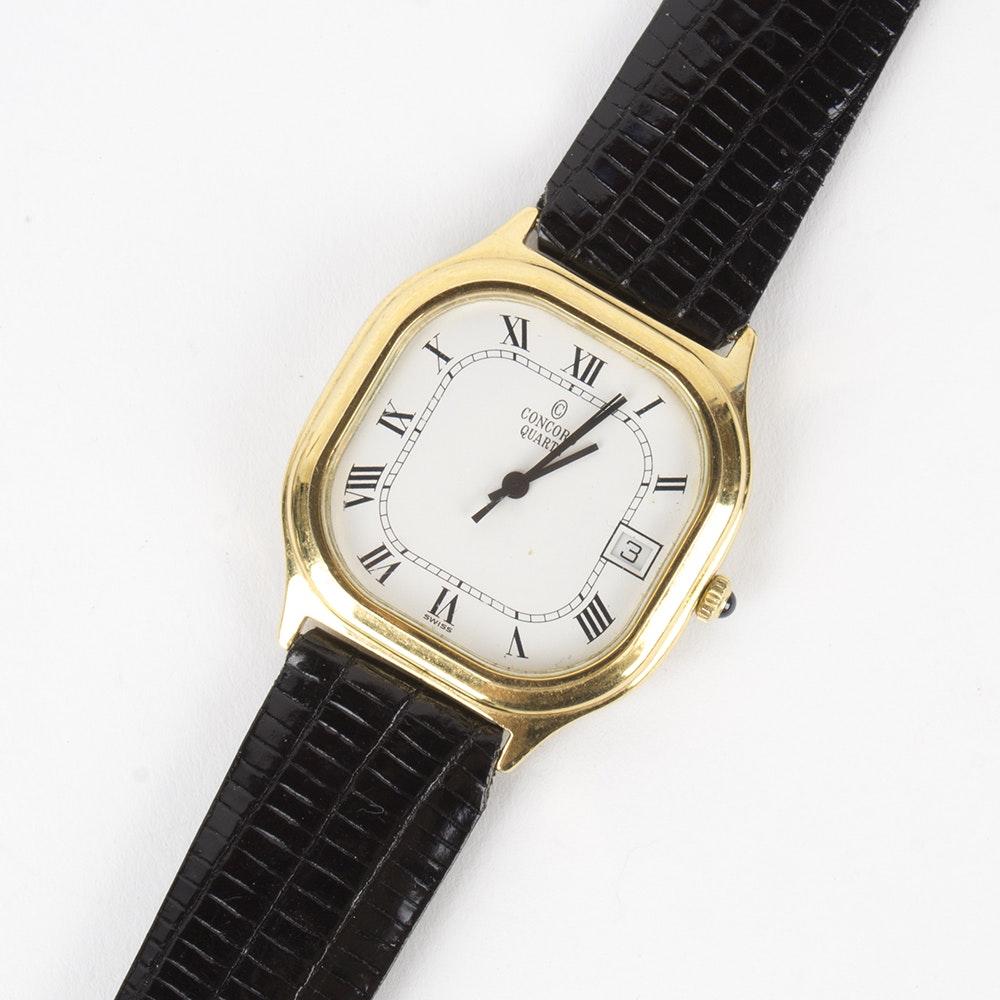 Concord Quartz Wristwatch