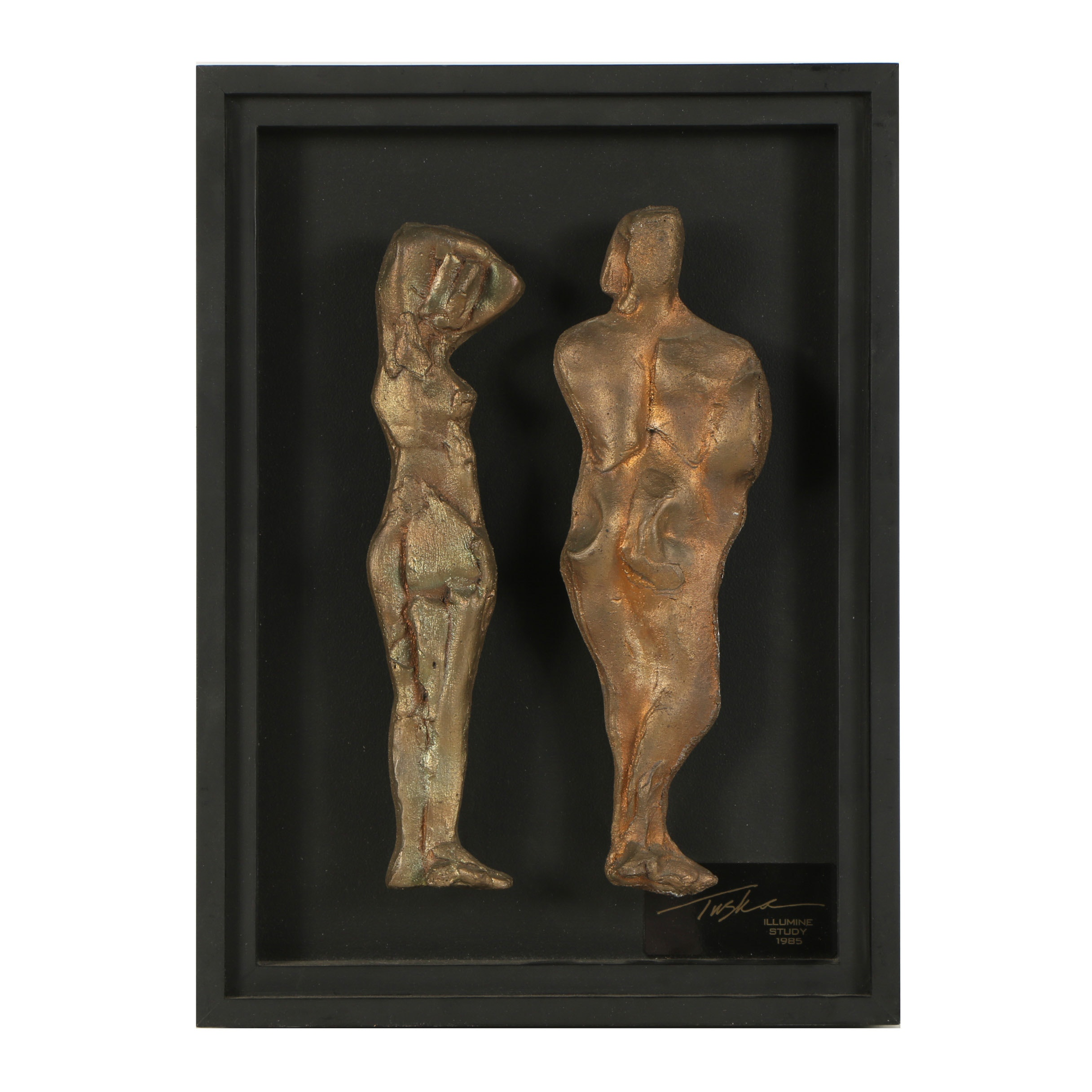"John Tuska Bronze Maquette ""Illumine Study"""