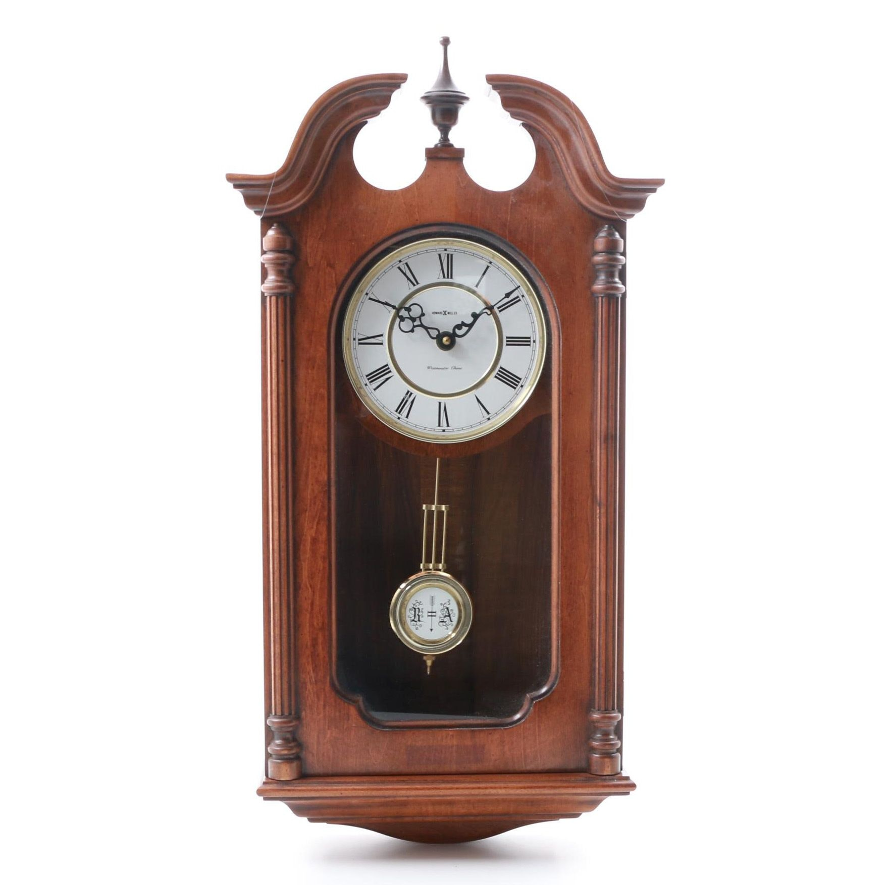 Howard Miller Wall Clock With Westminster Chime