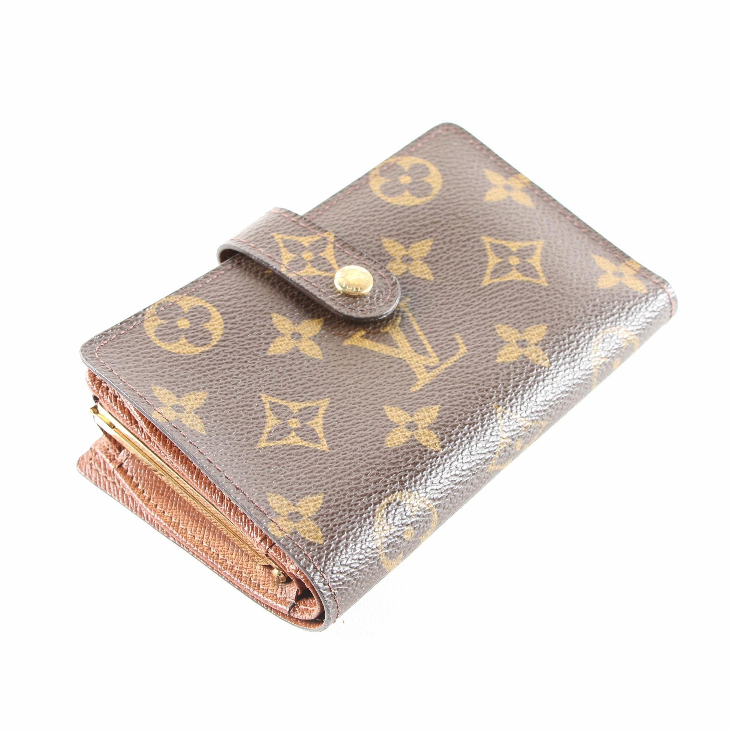 Louis Vuitton of Paris Monogram French Purse Wallet